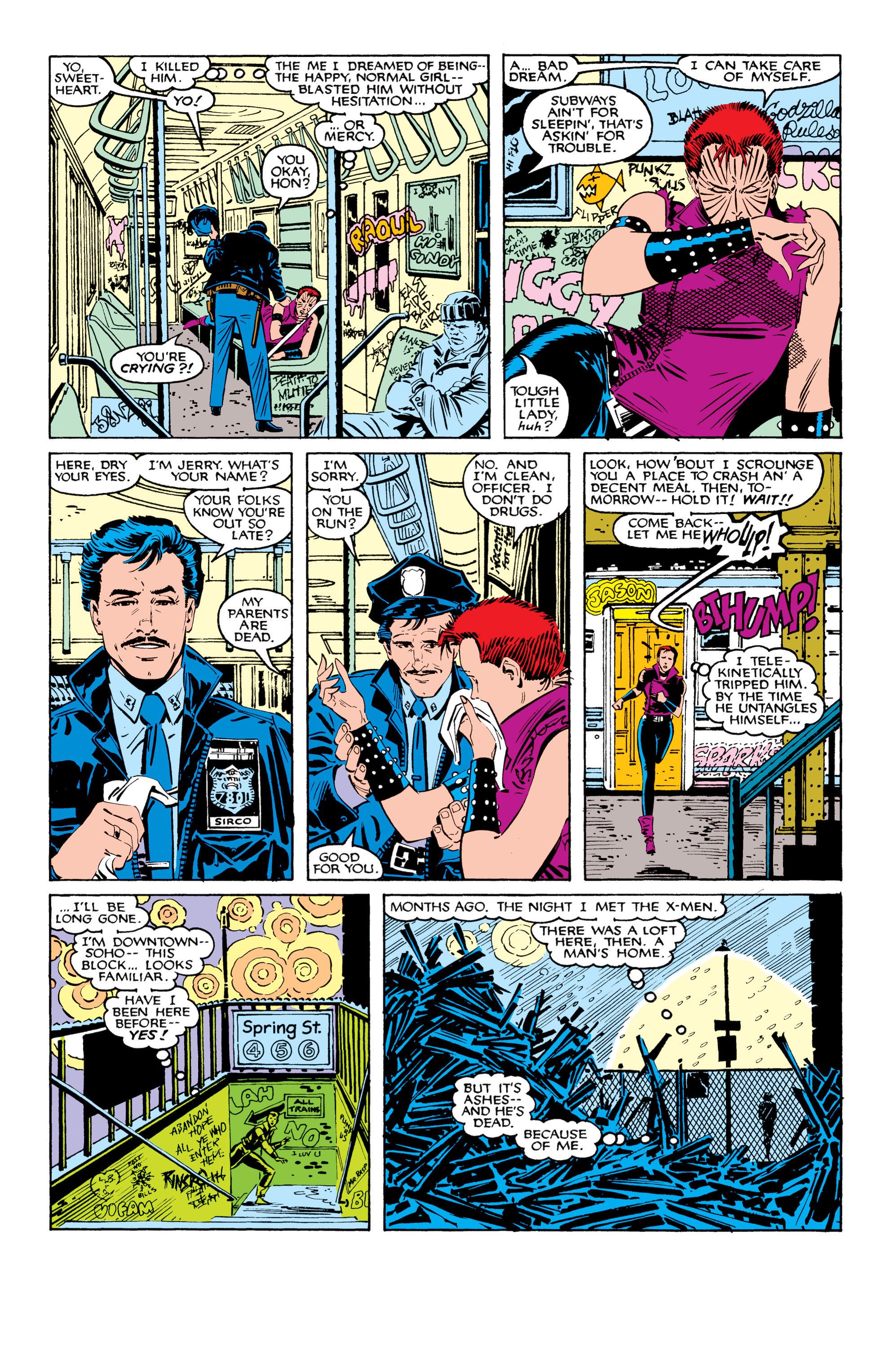 Read online Uncanny X-Men (1963) comic -  Issue #207 - 16