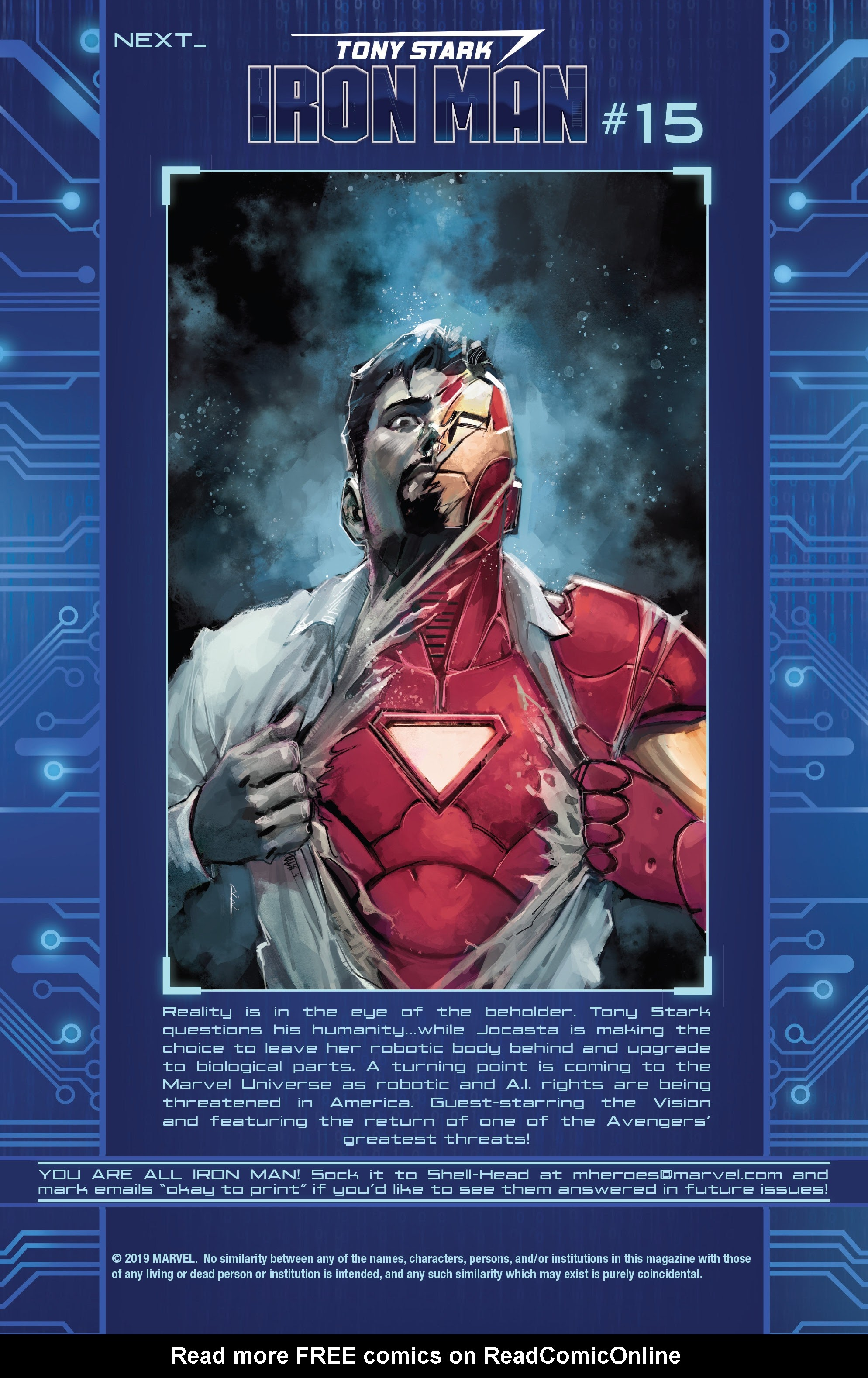 Read online Tony Stark: Iron Man comic -  Issue #14 - 23