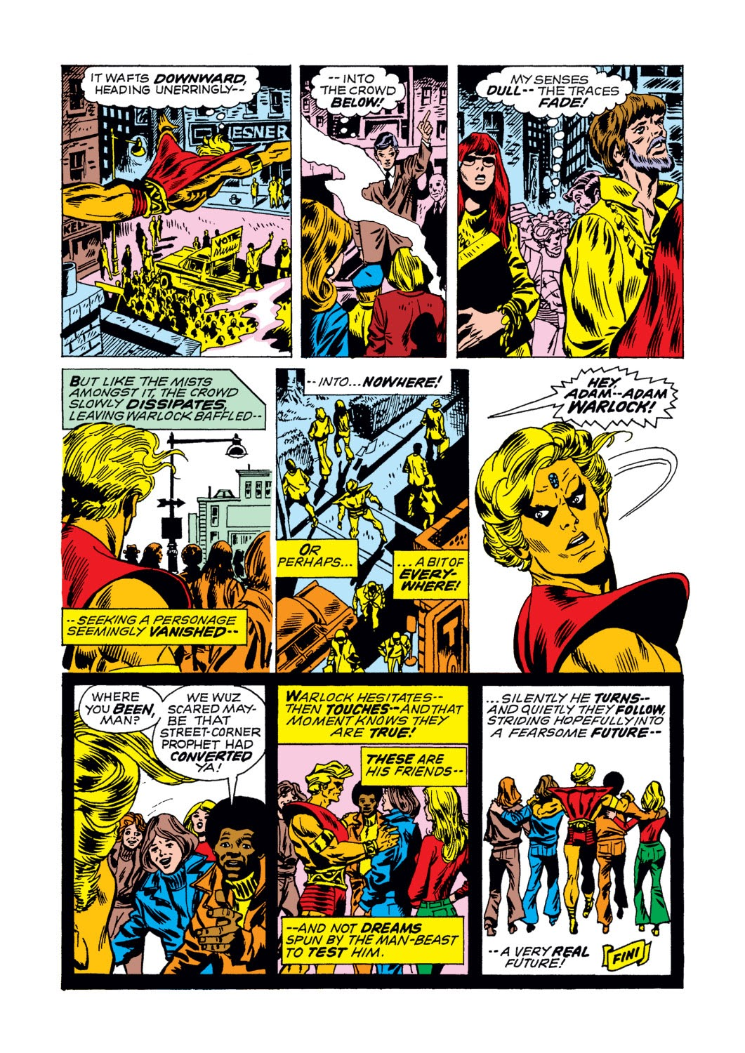 Warlock (1972) issue 2 - Page 21