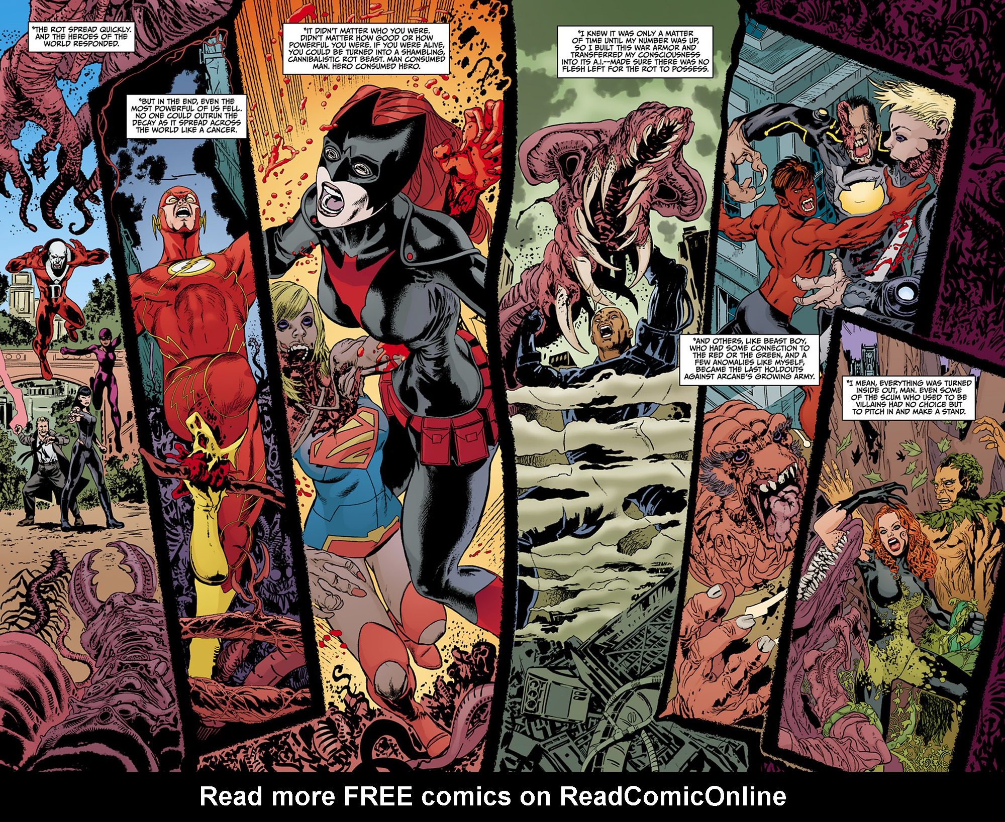 Read online Animal Man (2011) comic -  Issue #13 - 12