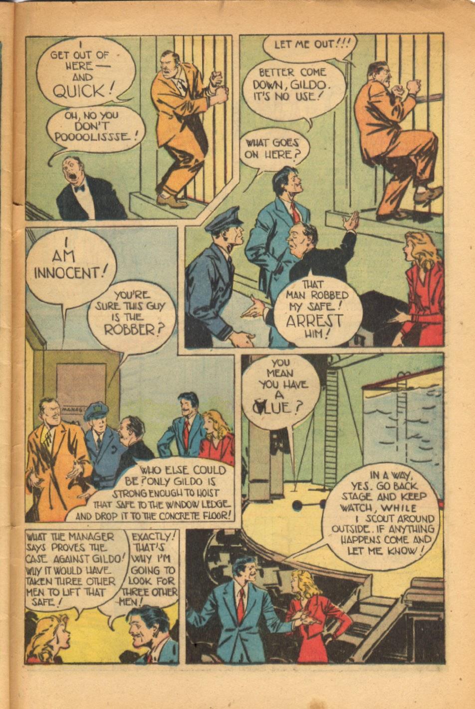 Read online Super-Magician Comics comic -  Issue #54 - 44