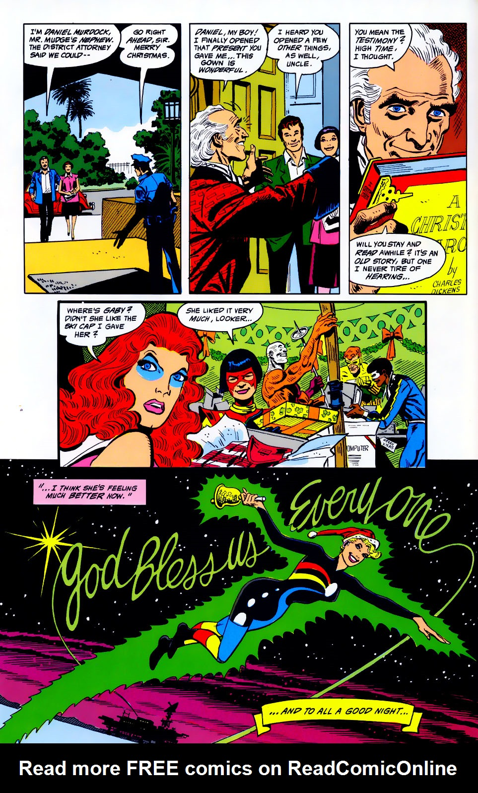 Read online Adventures of the Outsiders comic -  Issue #43 - 21