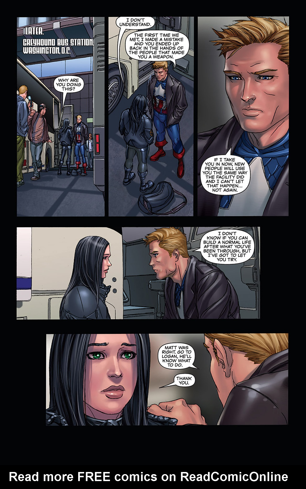 Read online X-23: Target X comic -  Issue #6 - 26