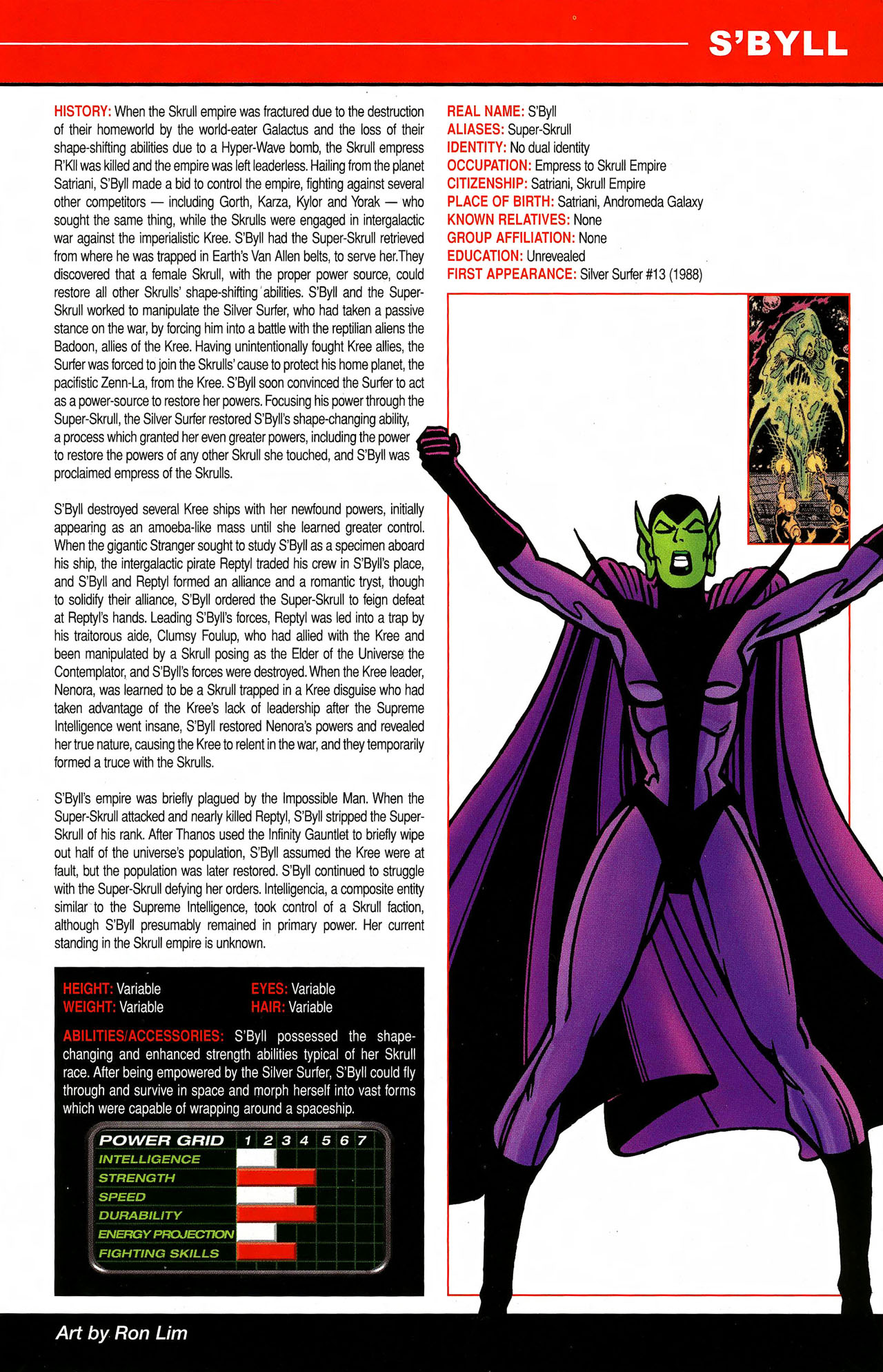 Read online All-New Official Handbook of the Marvel Universe A to Z comic -  Issue #9 - 47