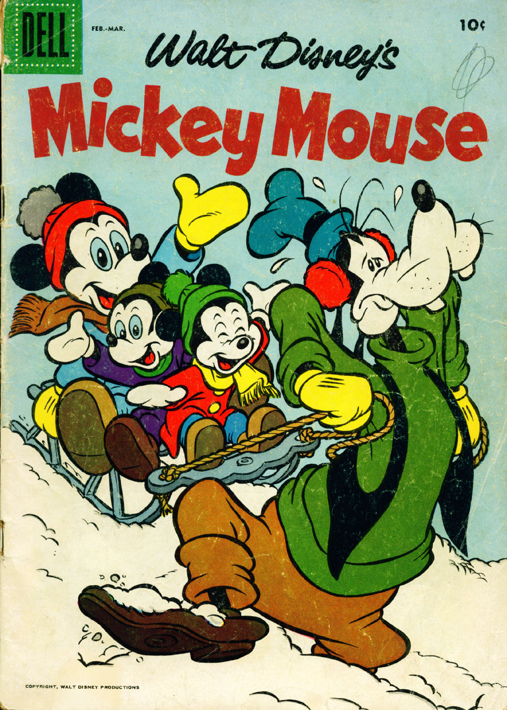 Walt Disney's Mickey Mouse issue 52 - Page 1