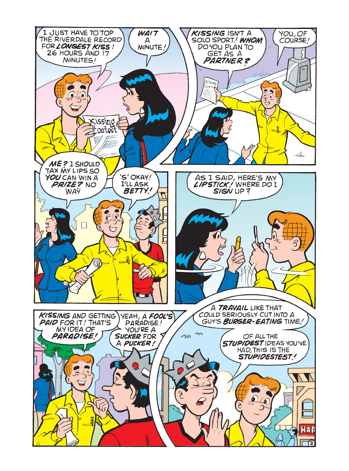 Read online Archie's Funhouse Double Digest comic -  Issue #9 - 95