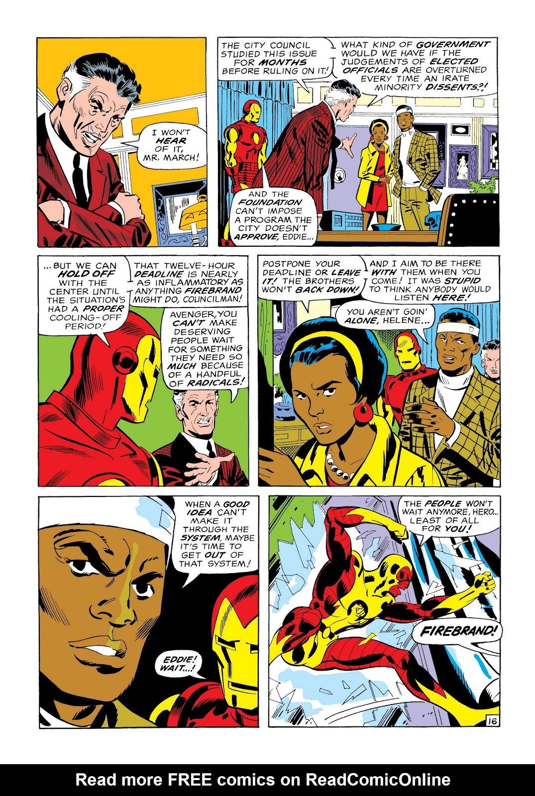 Read online Marvel Masterworks: The Invincible Iron Man comic -  Issue # TPB 7 (Part 1) - 44