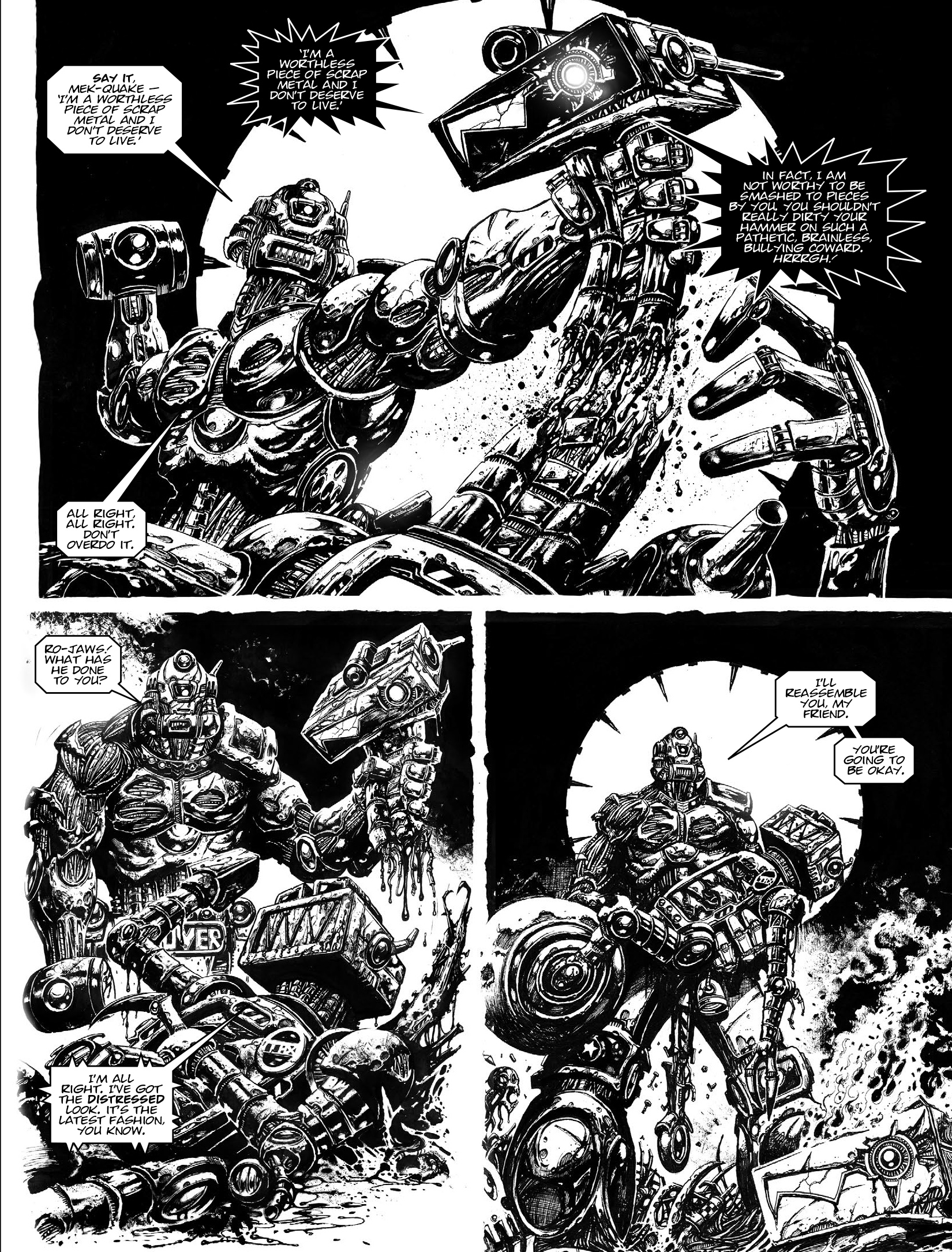 Read online 2000 AD comic -  Issue #1964 - 23