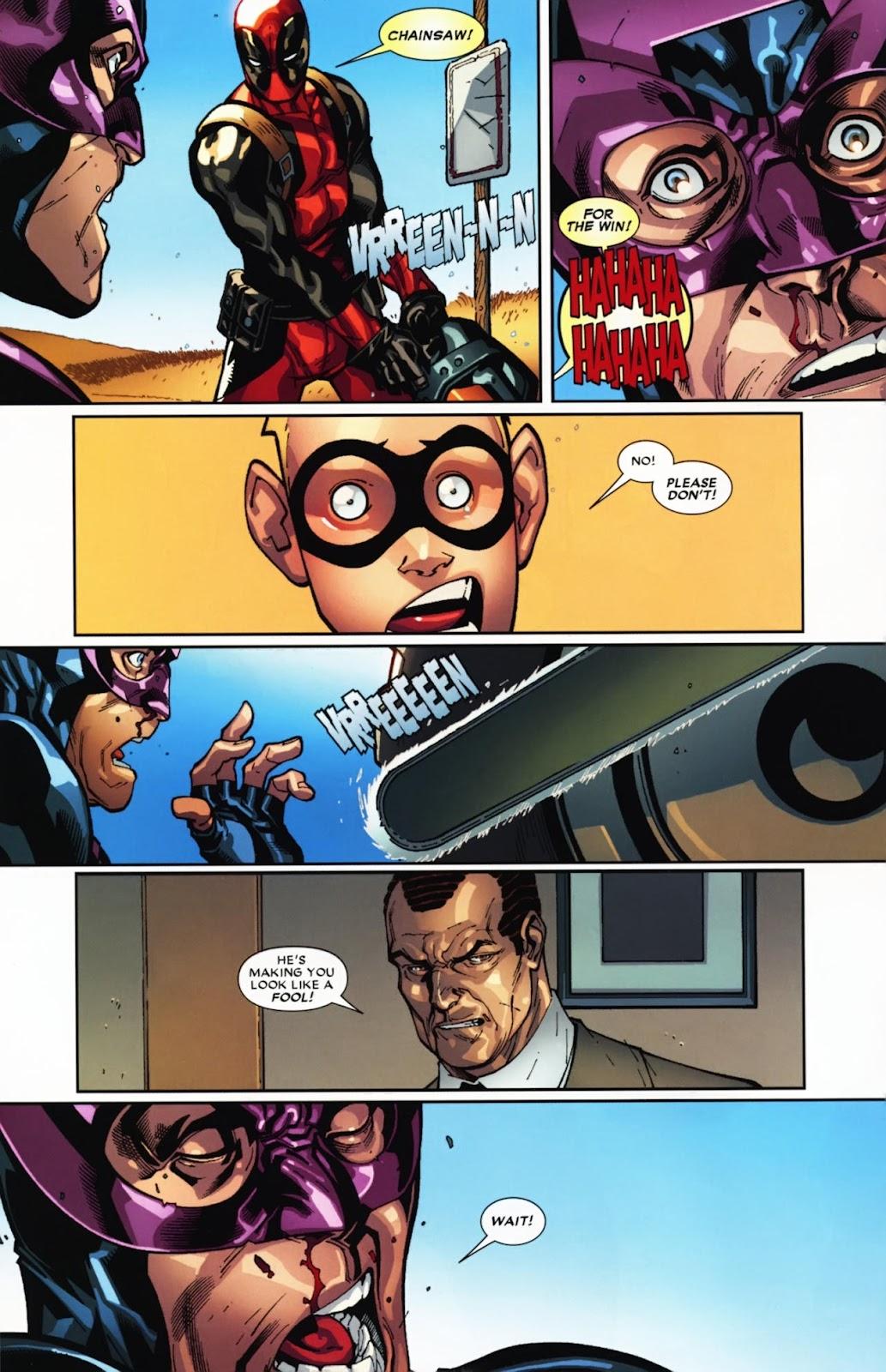 Read online Deadpool (2008) comic -  Issue #12 - 18