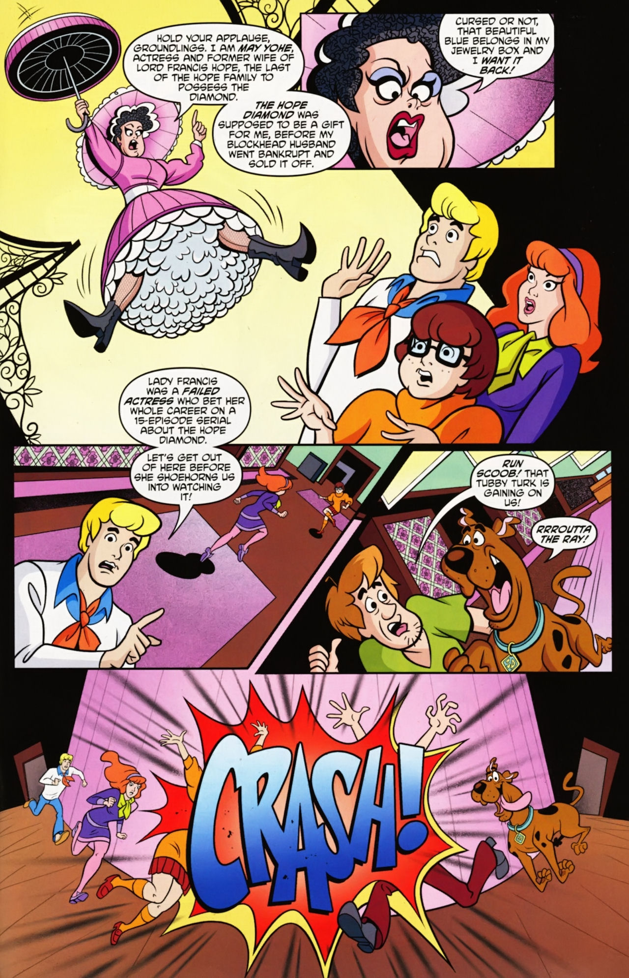 Read online Scooby-Doo: Where Are You? comic -  Issue #12 - 13