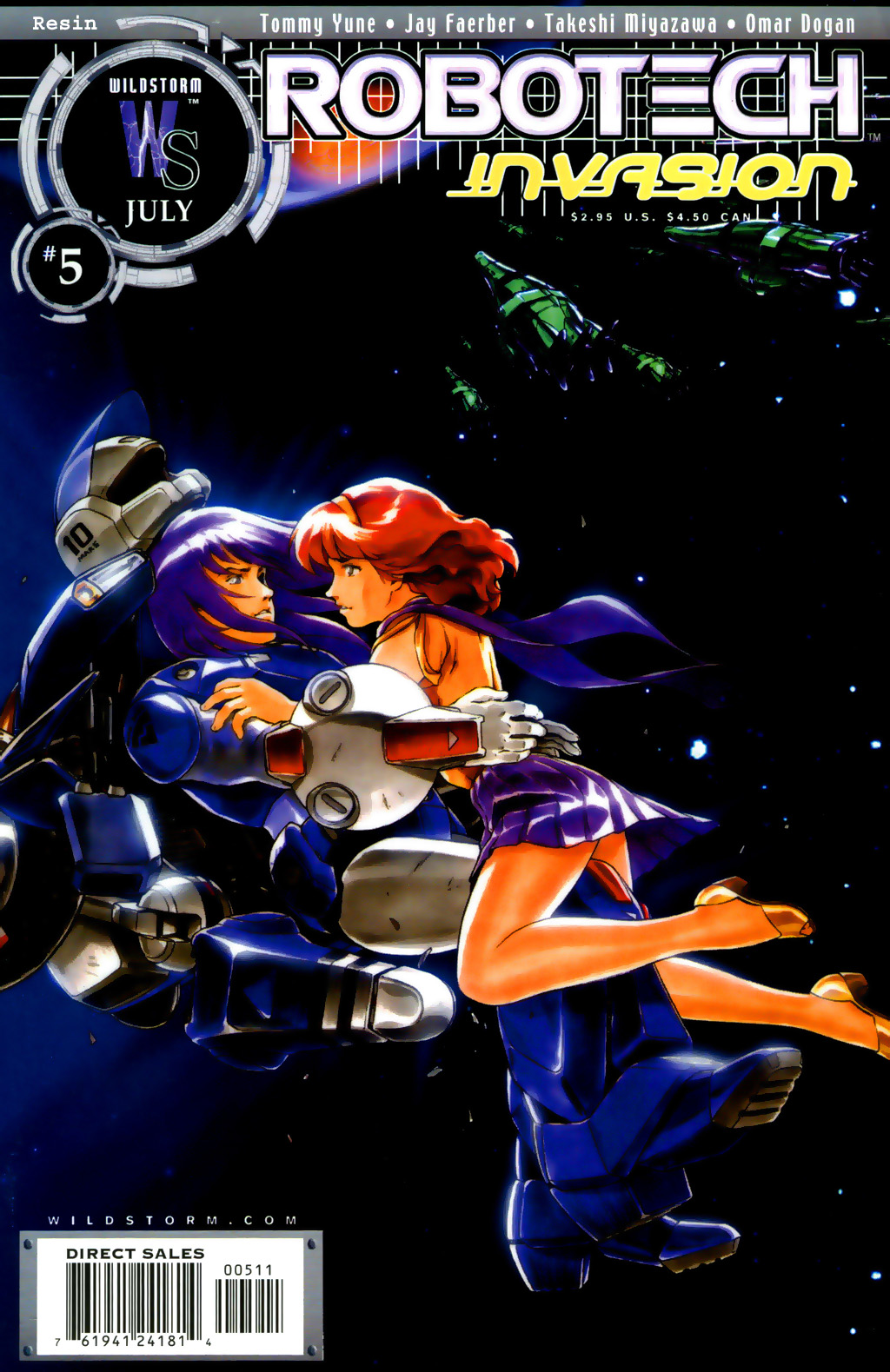 Read online Robotech: Invasion comic -  Issue #5 - 1