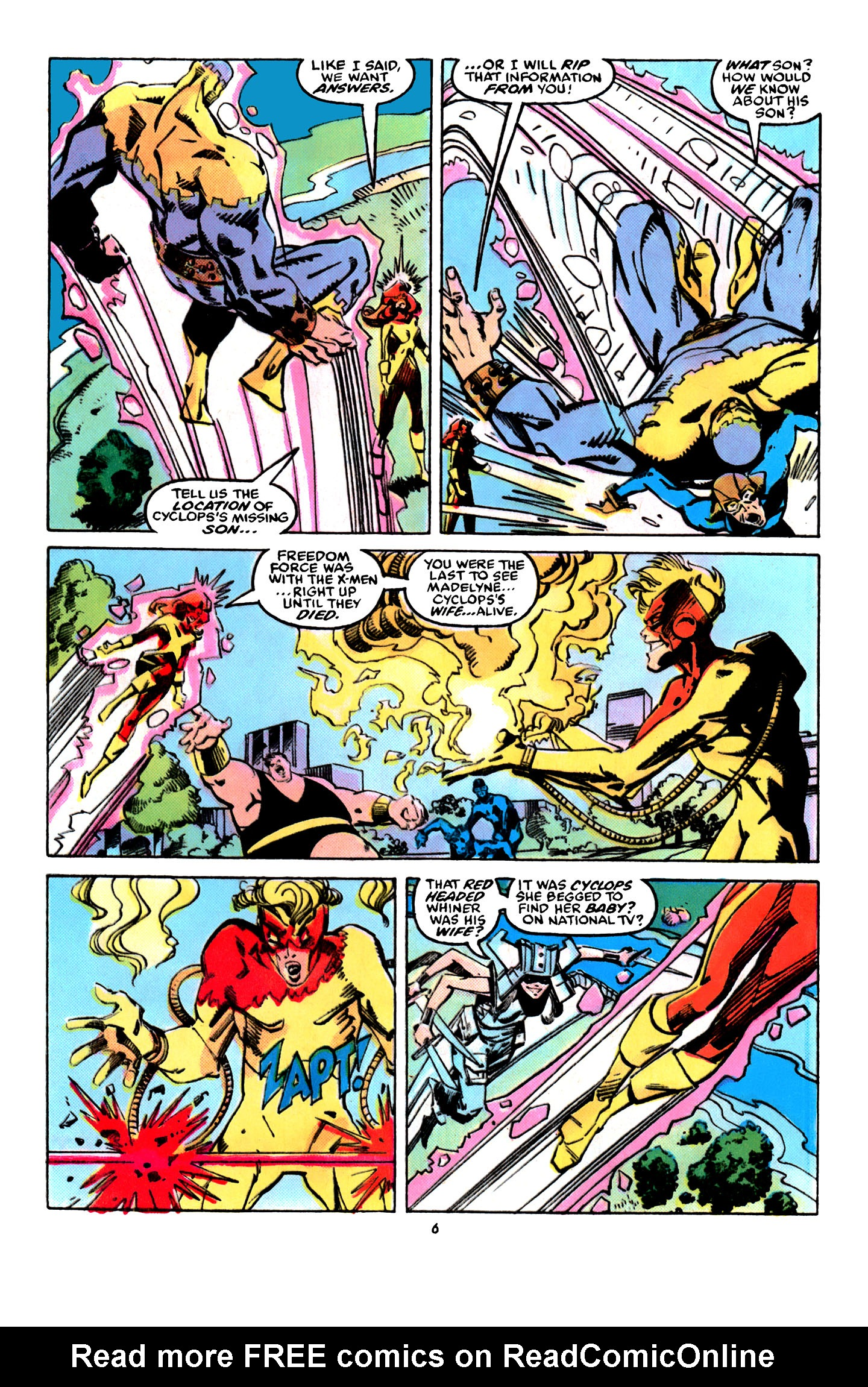Read online X-Factor (1986) comic -  Issue #31 - 6