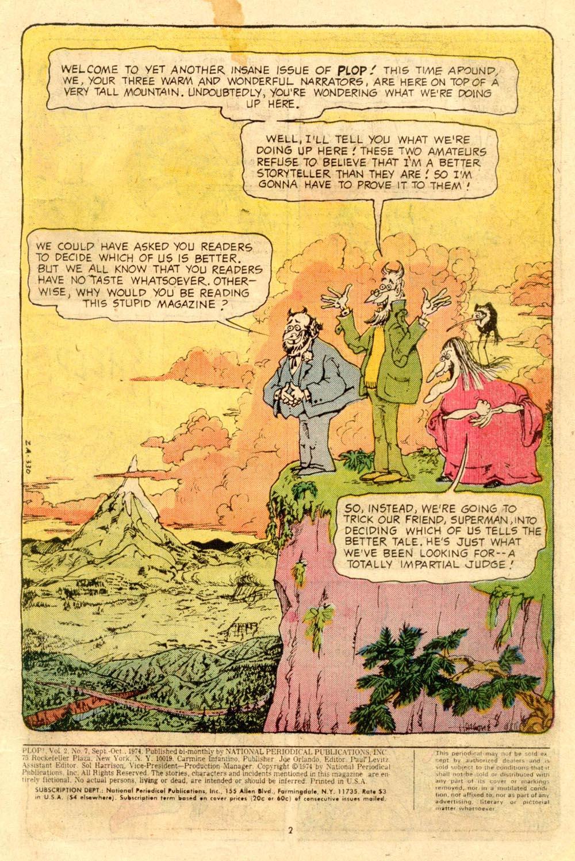 Read online Plop! comic -  Issue #7 - 3