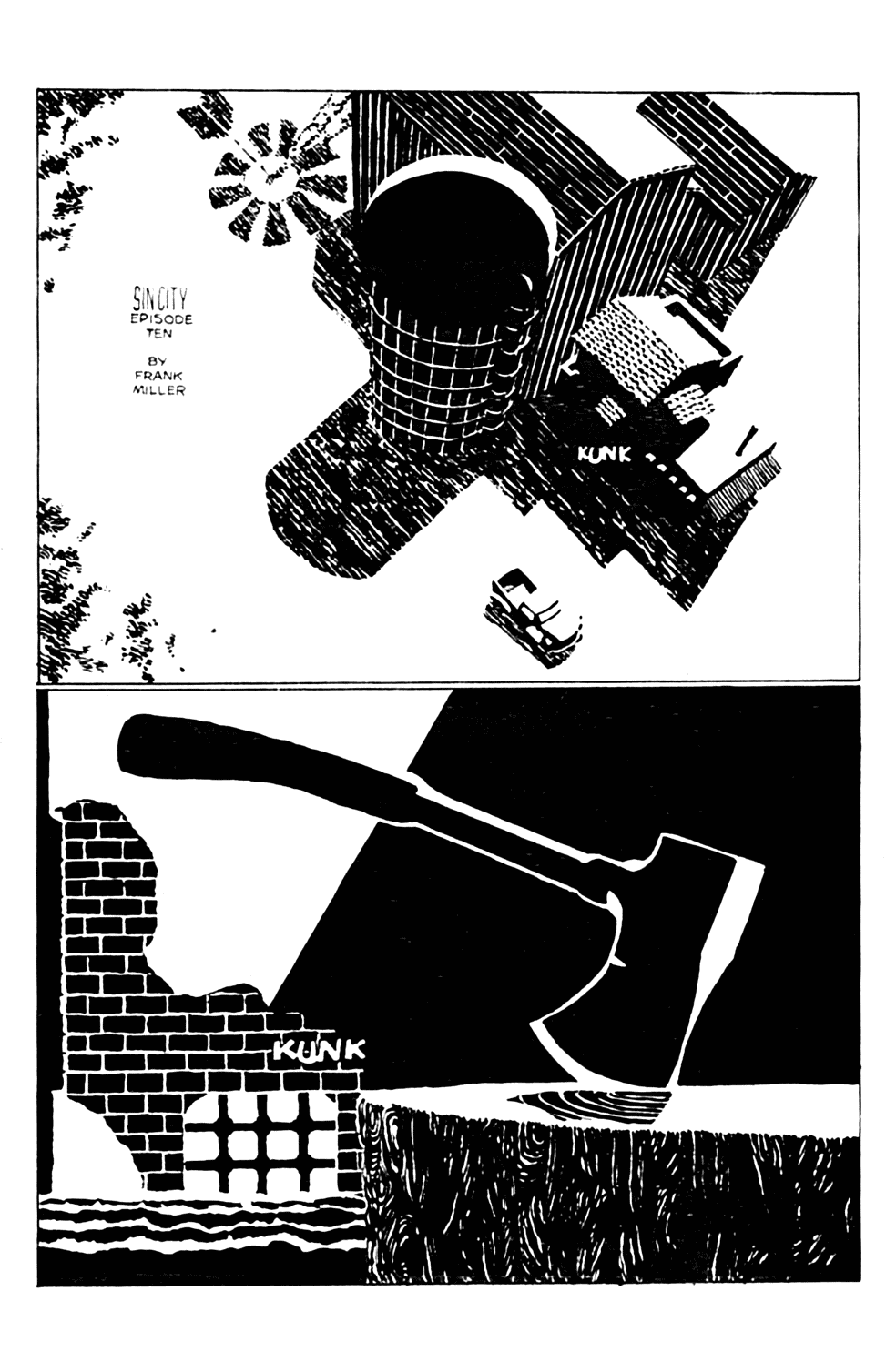Sin City 10 Page 1