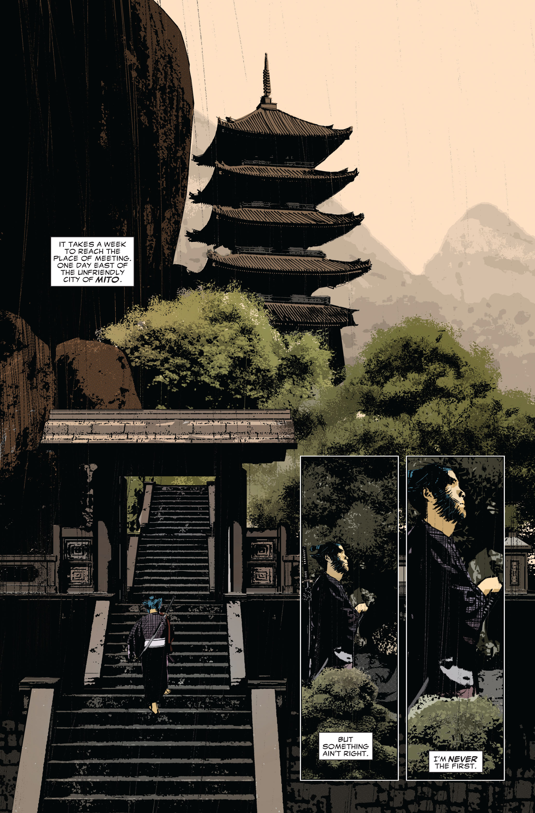 Read online 5 Ronin (2011) comic -  Issue #1 - 5