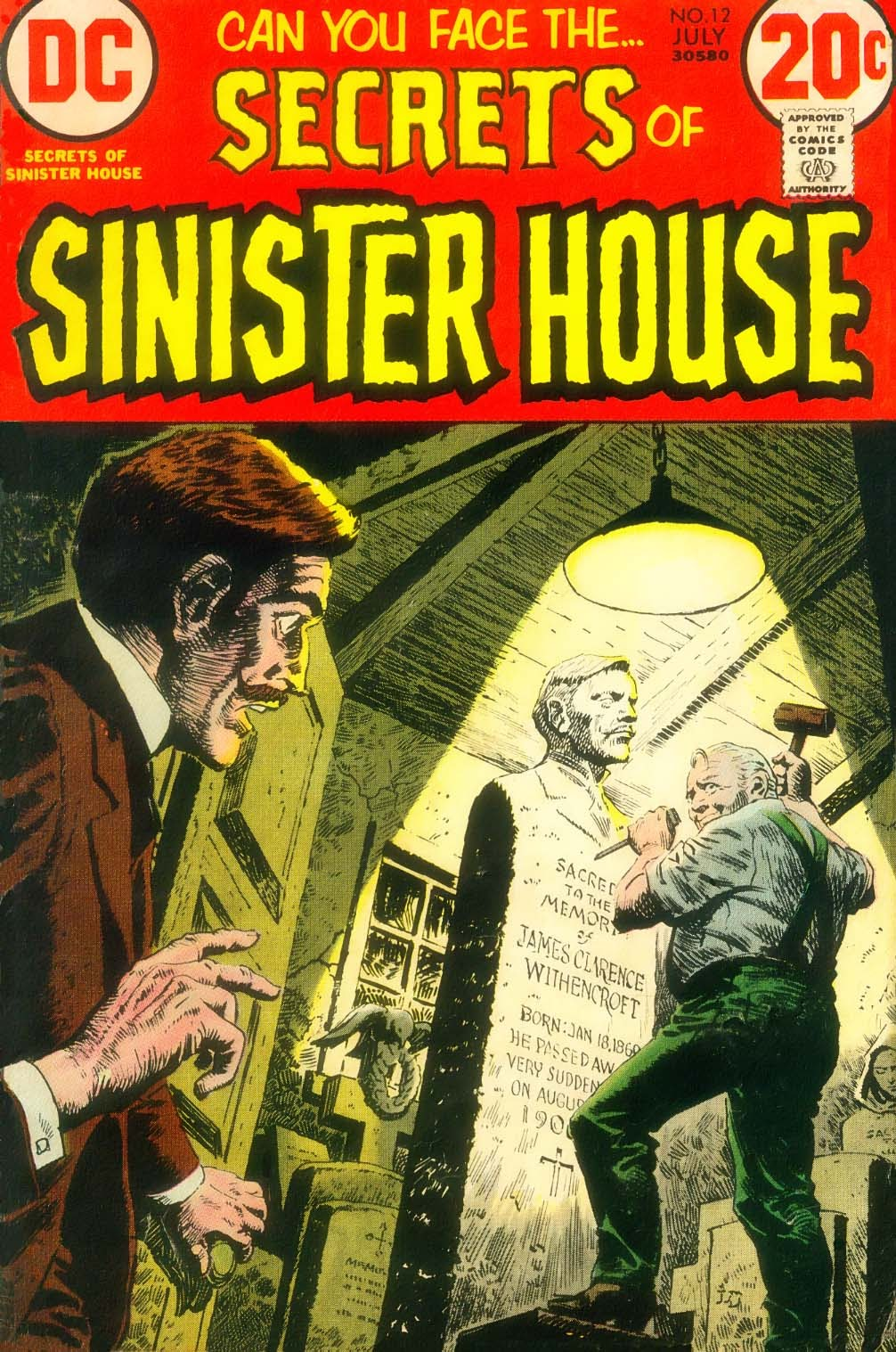 Secrets of Sinister House (1972) 12 Page 1