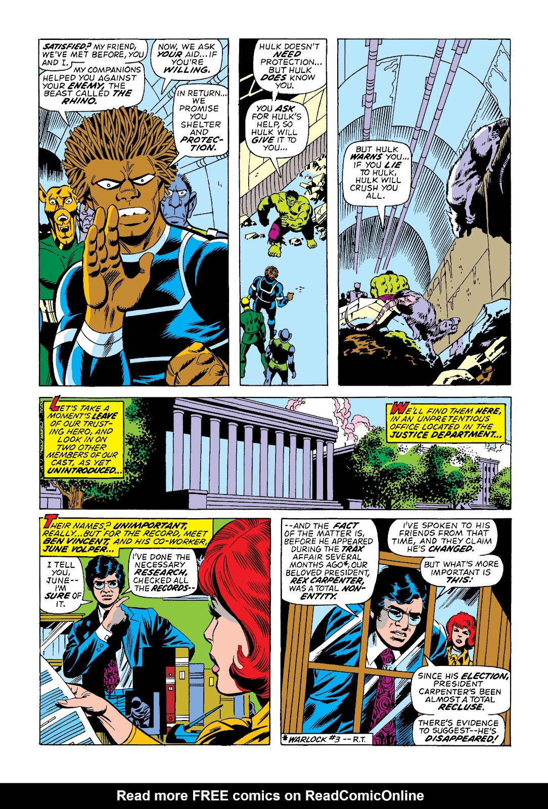 Read online Marvel Masterworks: The Incredible Hulk comic -  Issue # TPB 10 (Part 2) - 35