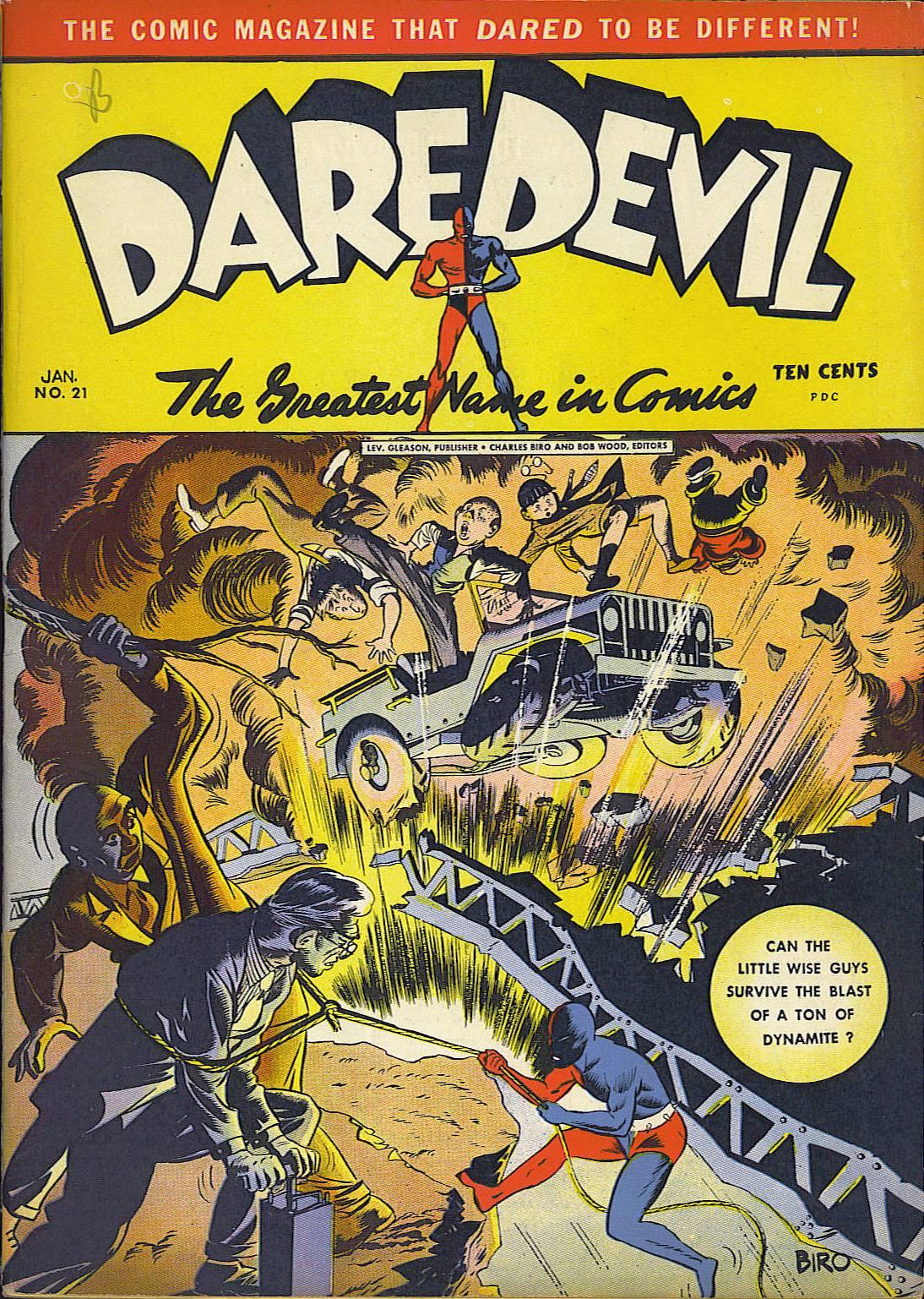 Daredevil (1941) issue 21 - Page 1