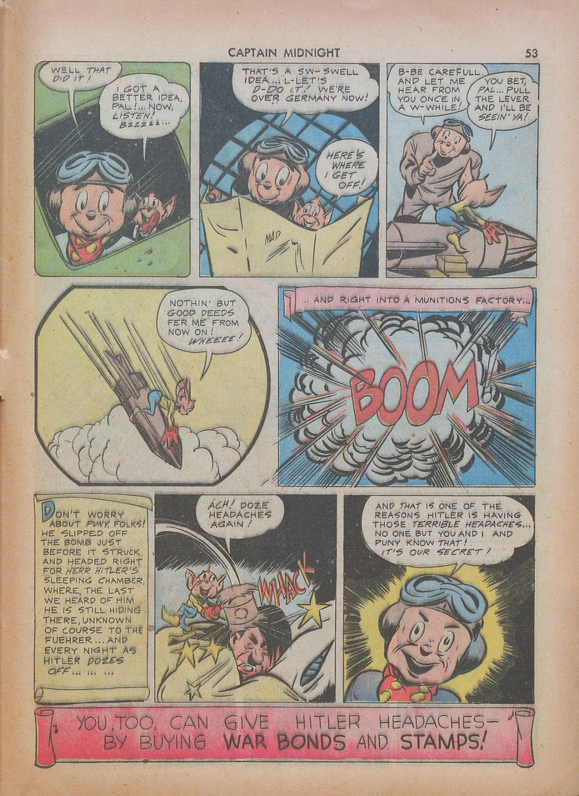 Captain Midnight (1942) issue 7 - Page 53