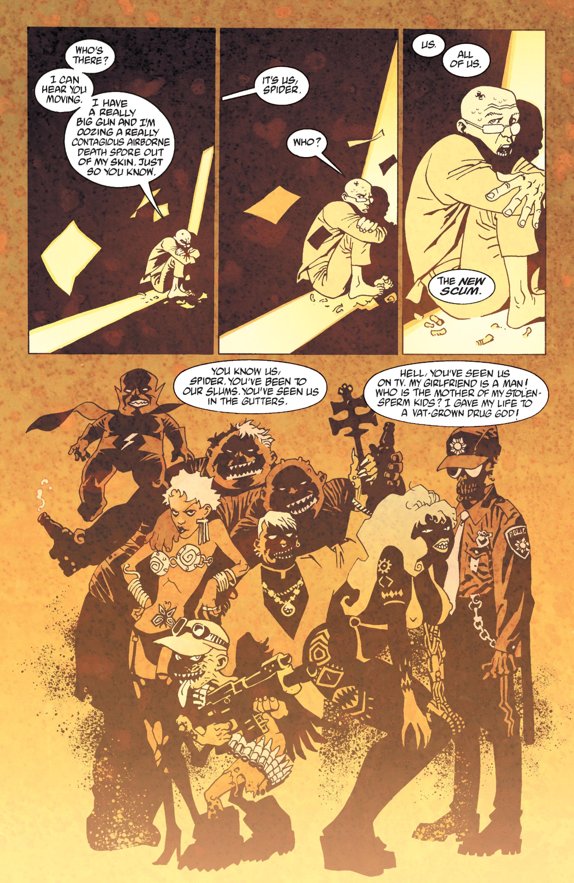 Read online Transmetropolitan comic -  Issue #31 - 20