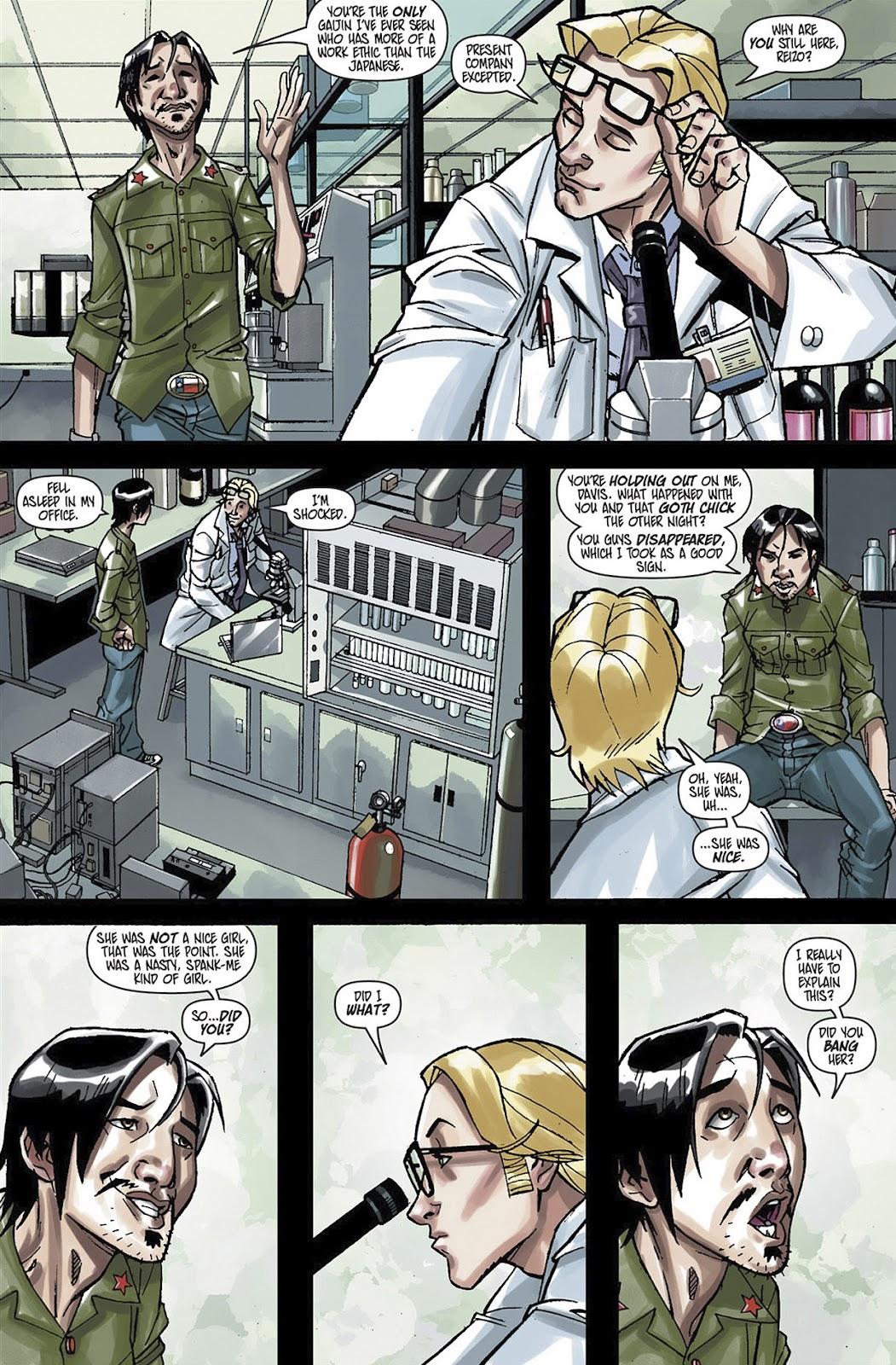 Read online Shinku comic -  Issue #3 - 8