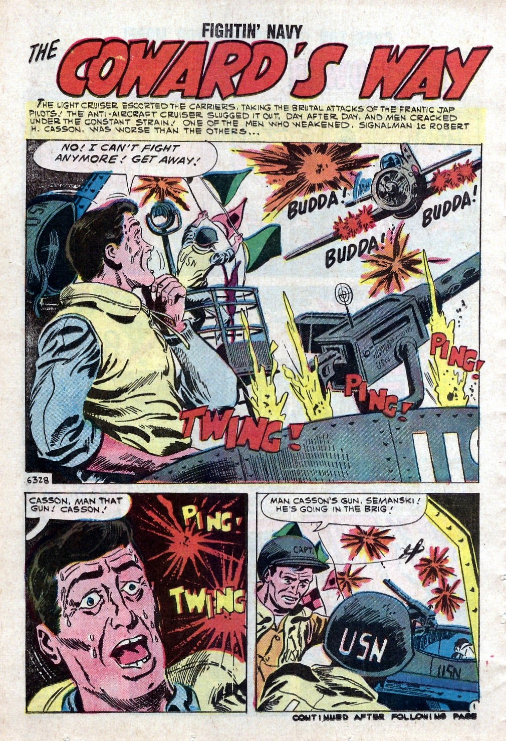 Read online Fightin' Navy comic -  Issue #94 - 14