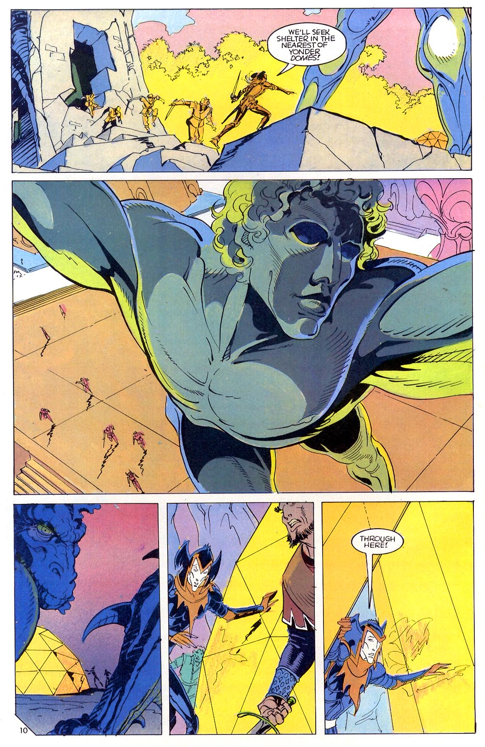Read online Elric: Sailor on the Seas of Fate comic -  Issue #7 - 11