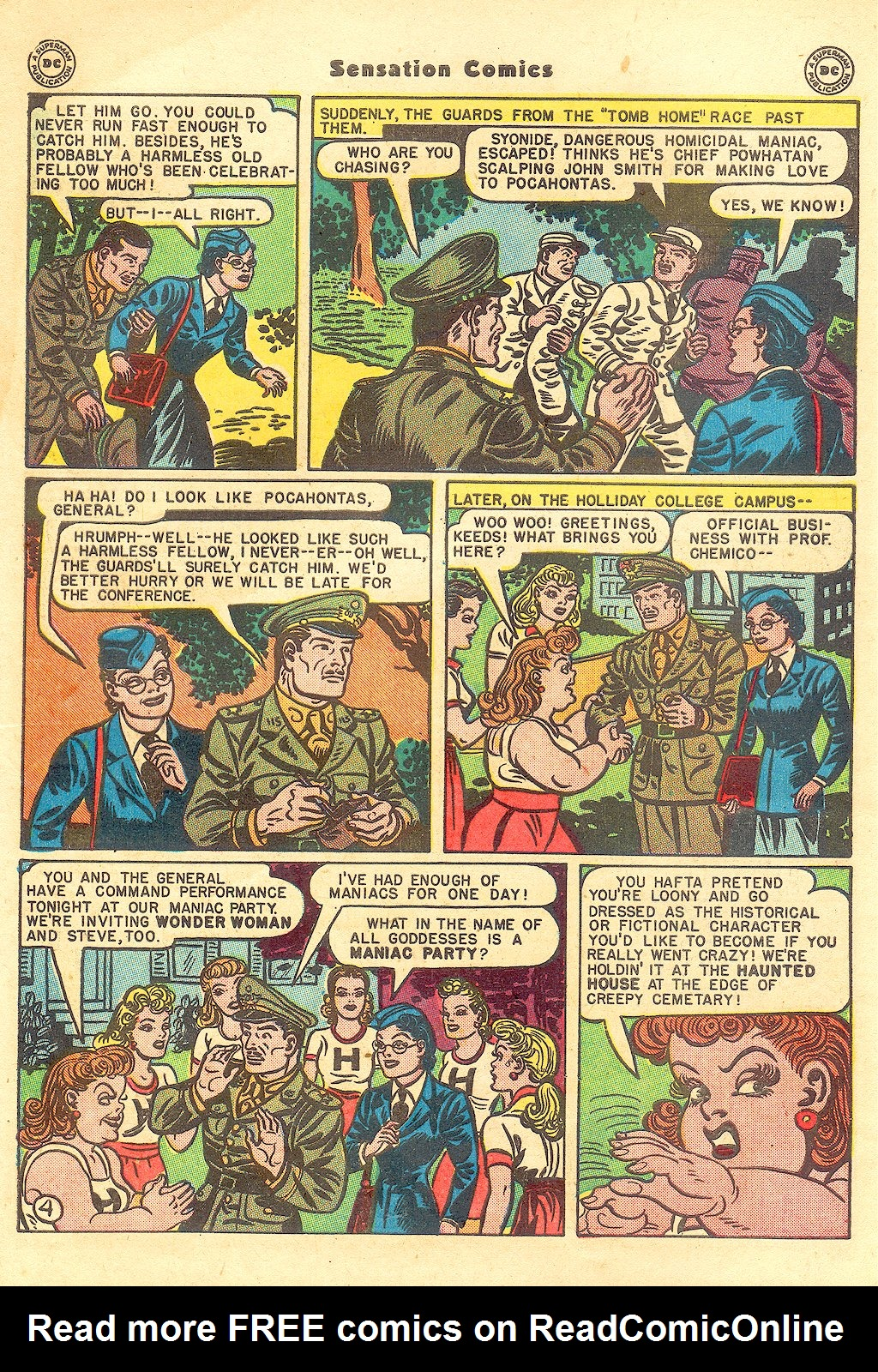 Read online Sensation (Mystery) Comics comic -  Issue #57 - 6