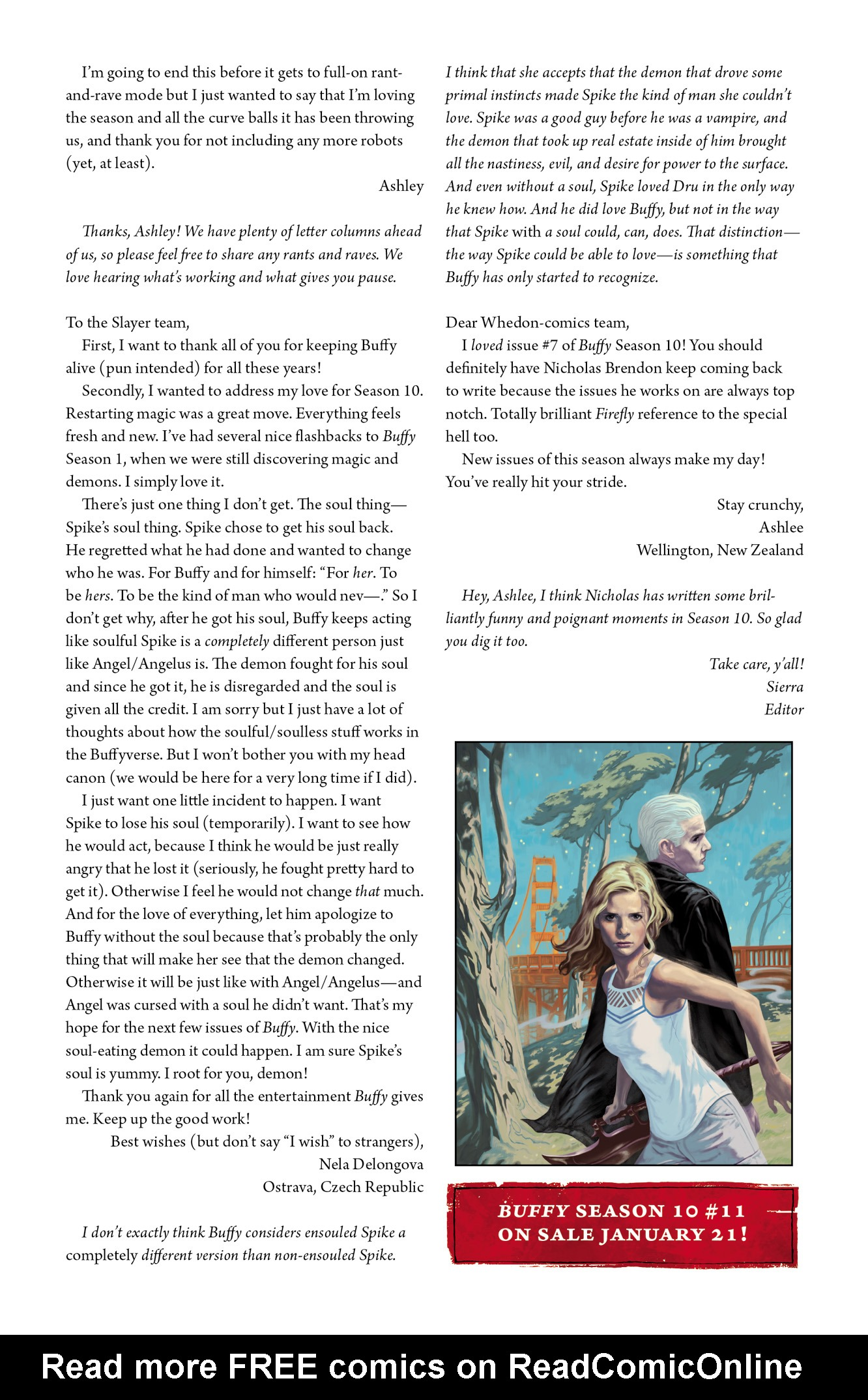 Read online Angel & Faith Season 10 comic -  Issue #10 - 26