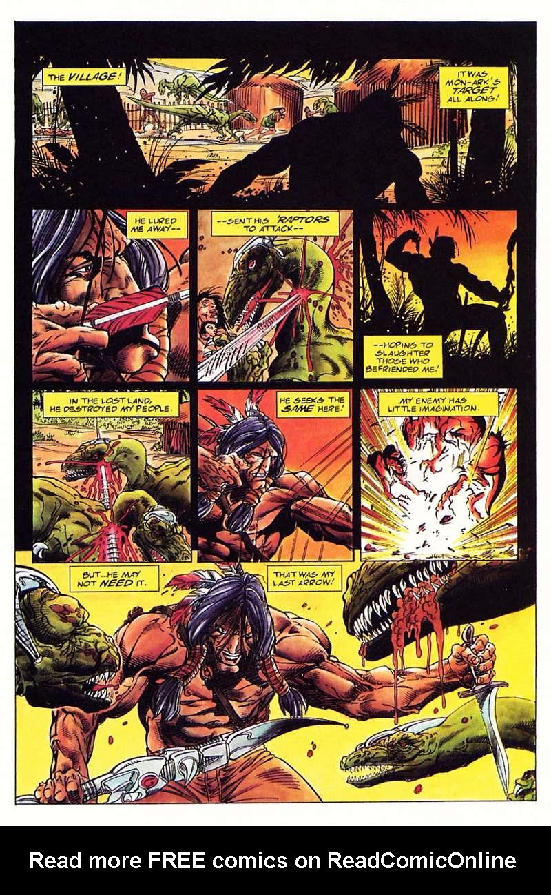 Read online Turok, Dinosaur Hunter (1993) comic -  Issue #1 - 20