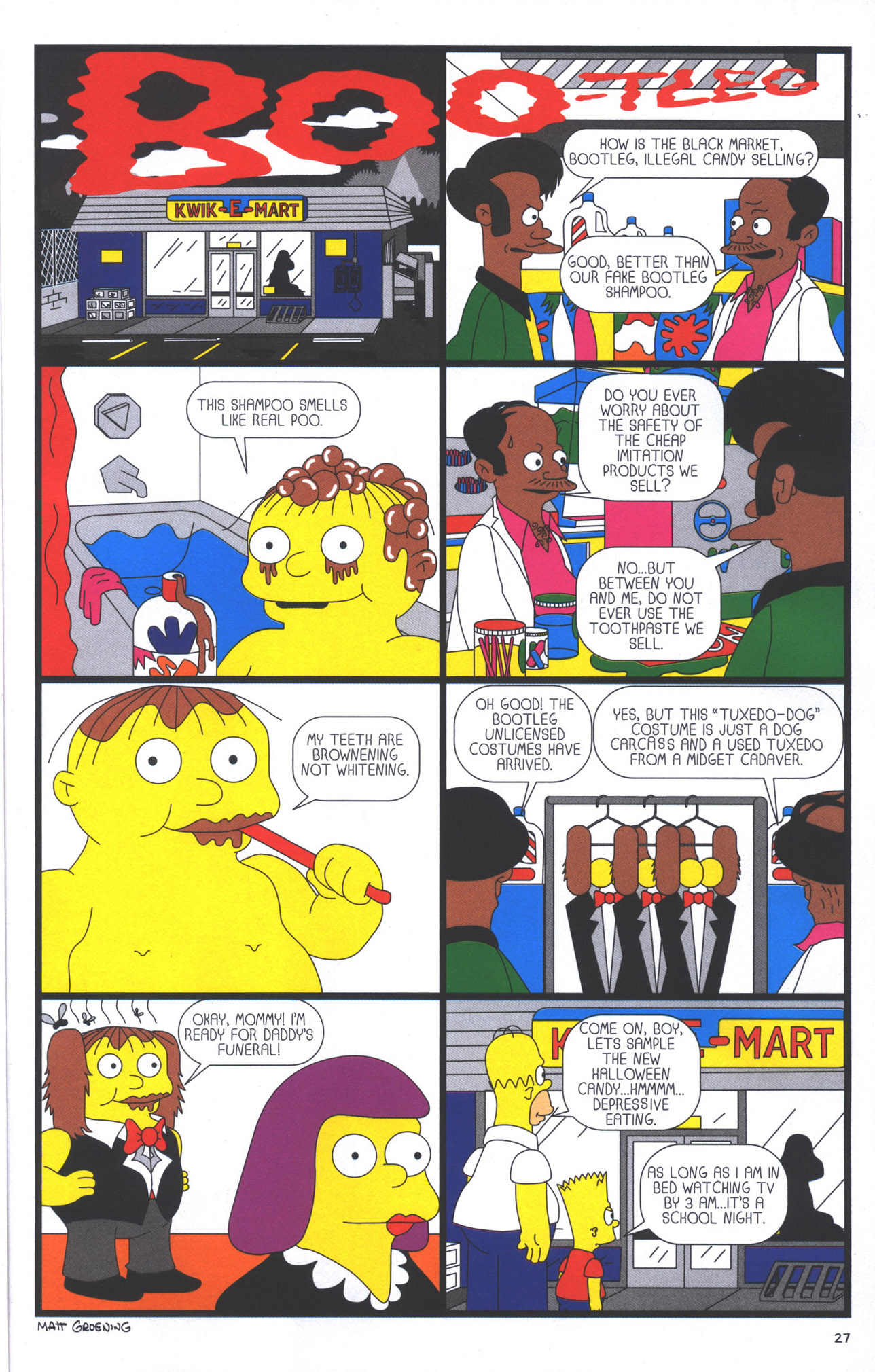 Read online Treehouse of Horror comic -  Issue #15 - 30