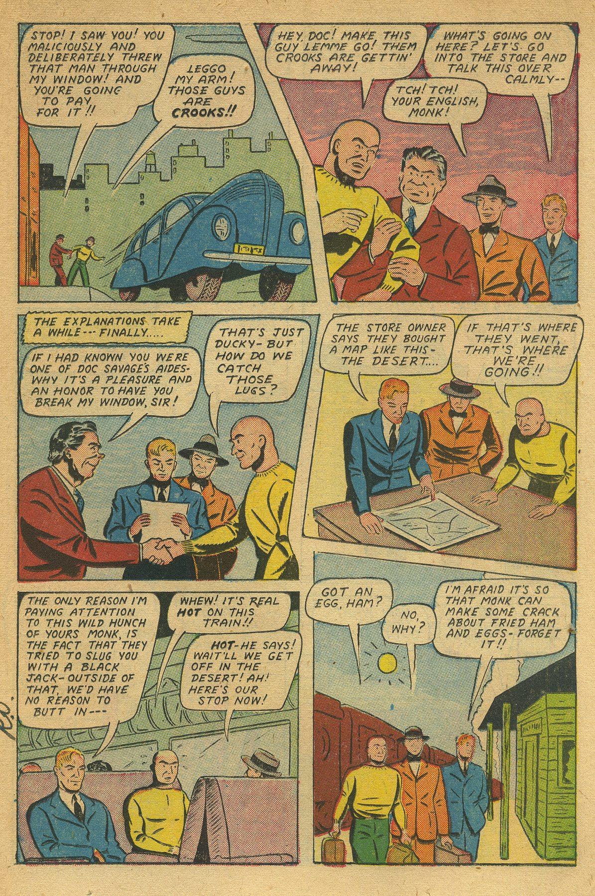 Read online Shadow Comics comic -  Issue #49 - 19