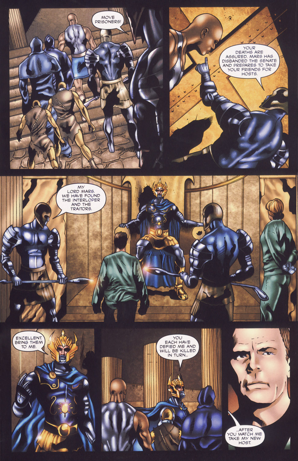 Read online Stargate SG-1: Fall of Rome comic -  Issue #3 - 17