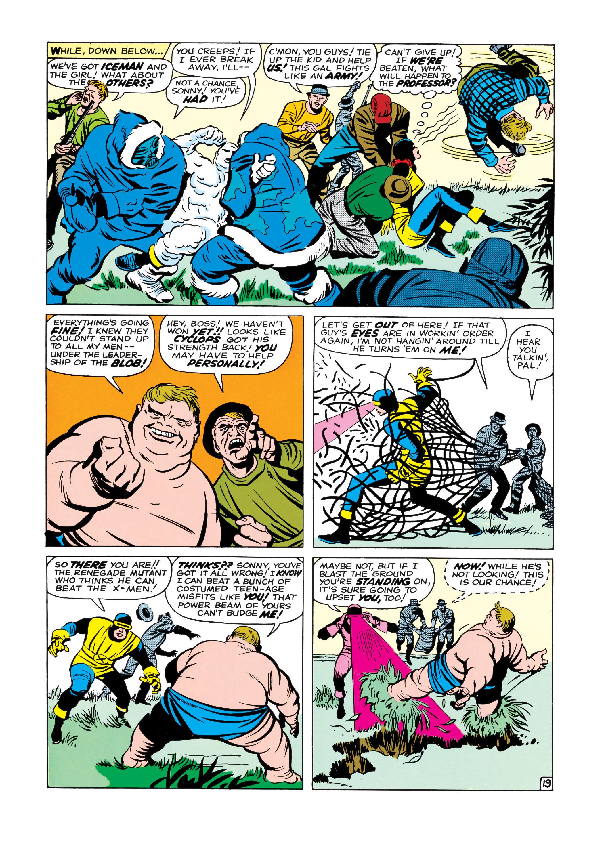 Read online Uncanny X-Men (1963) comic -  Issue #3 - 20