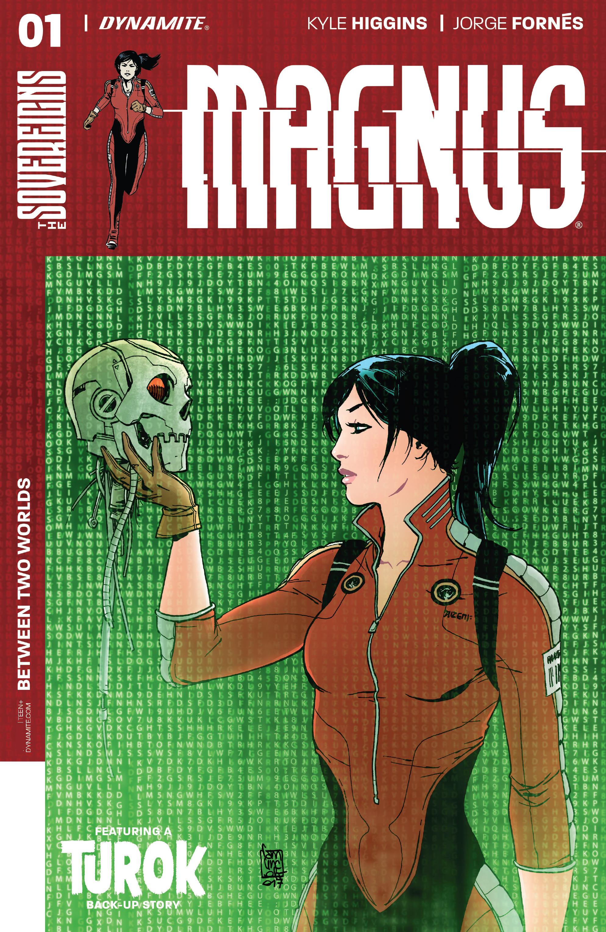 Read online Magnus comic -  Issue #1 - 1
