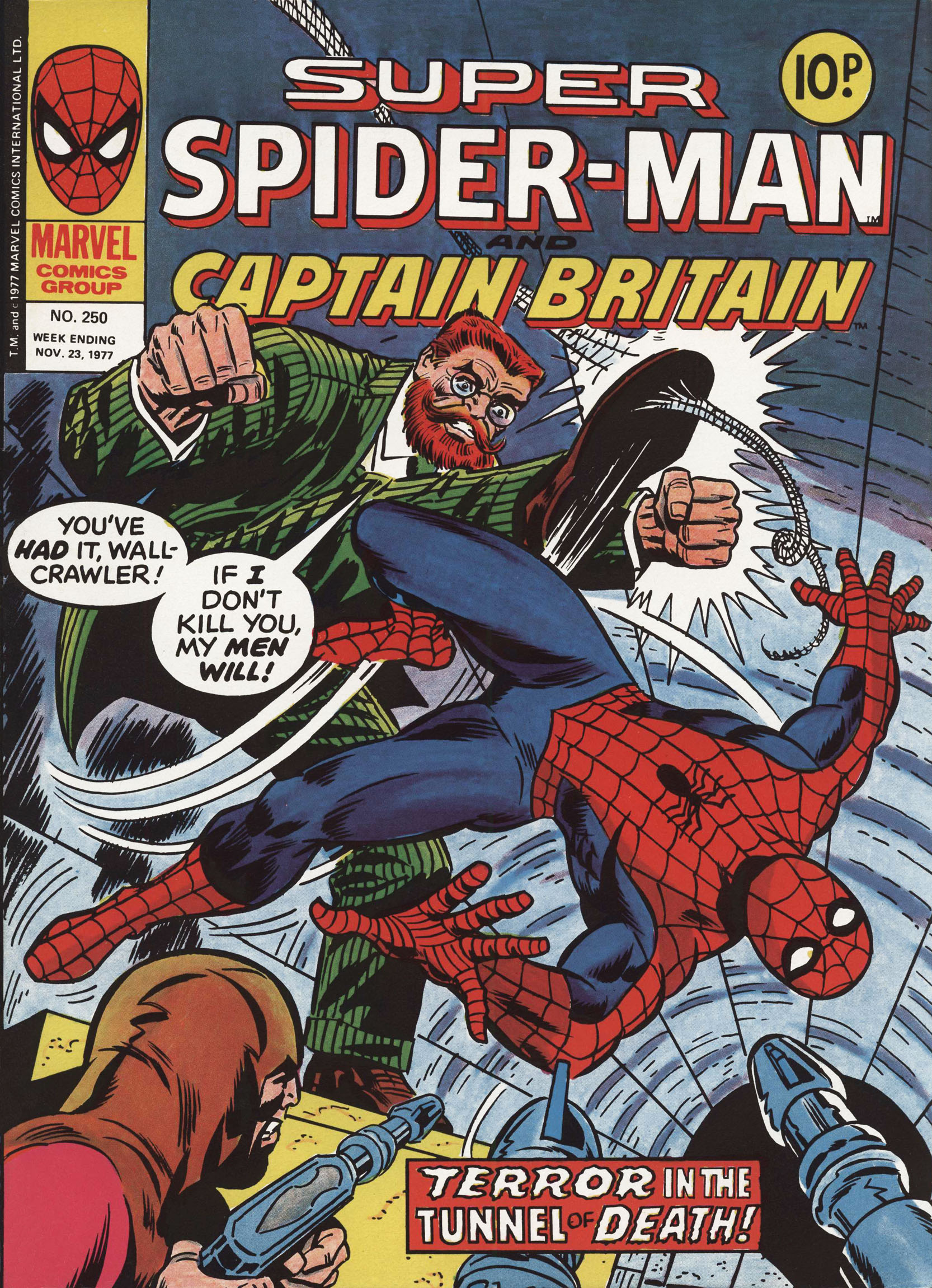 Super Spider-Man and Captain Britain 250 Page 1