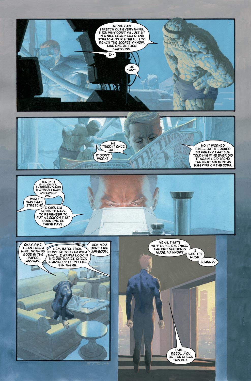 Read online Silver Surfer: Requiem comic -  Issue #1 - 6