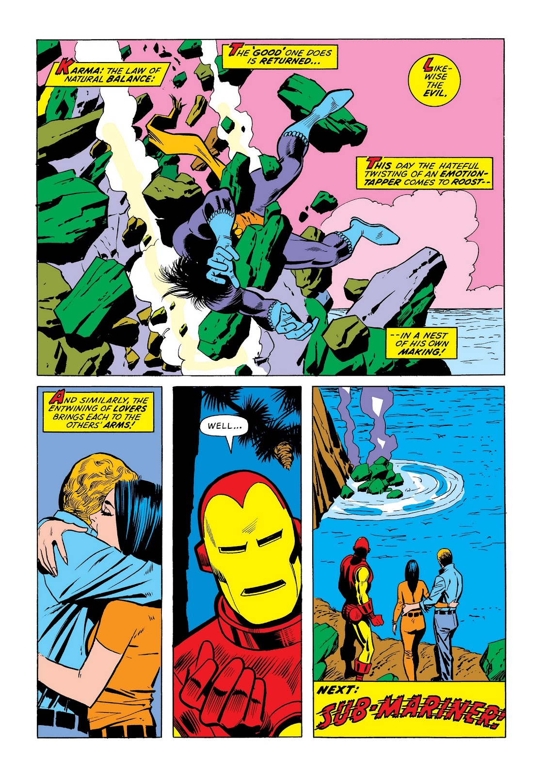 Read online Marvel Masterworks: The Invincible Iron Man comic -  Issue # TPB 8 (Part 3) - 114