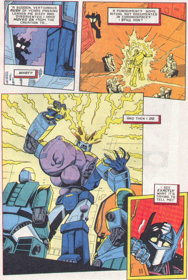 Read online Transformers: Generation 2 comic -  Issue #5 - 9