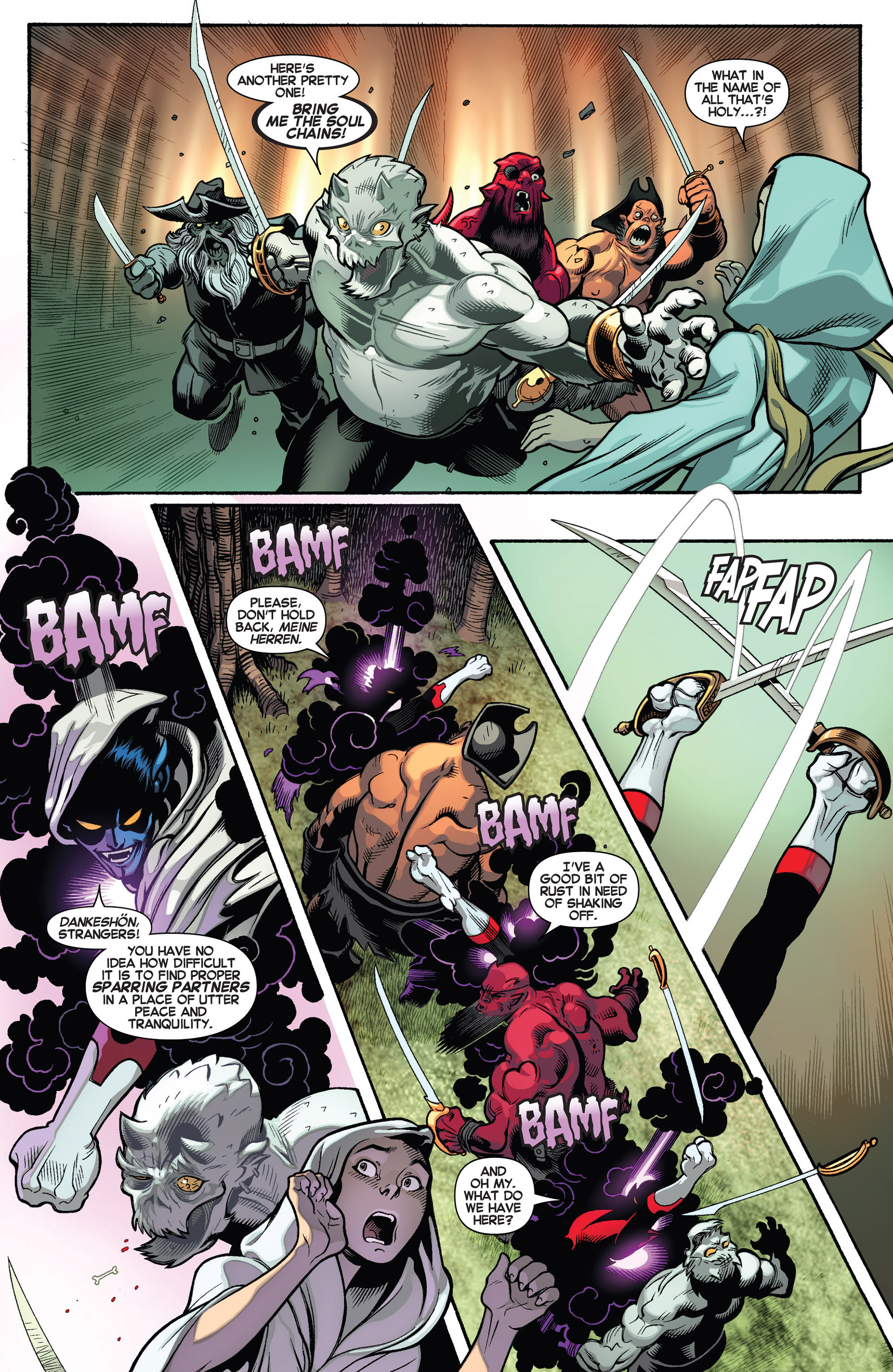 Read online Amazing X-Men (2014) comic -  Issue #1 - 7