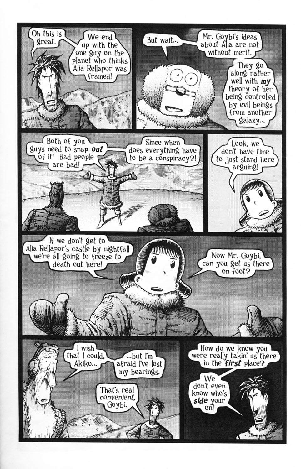 Read online Akiko comic -  Issue #Akiko _TPB 2 - 125