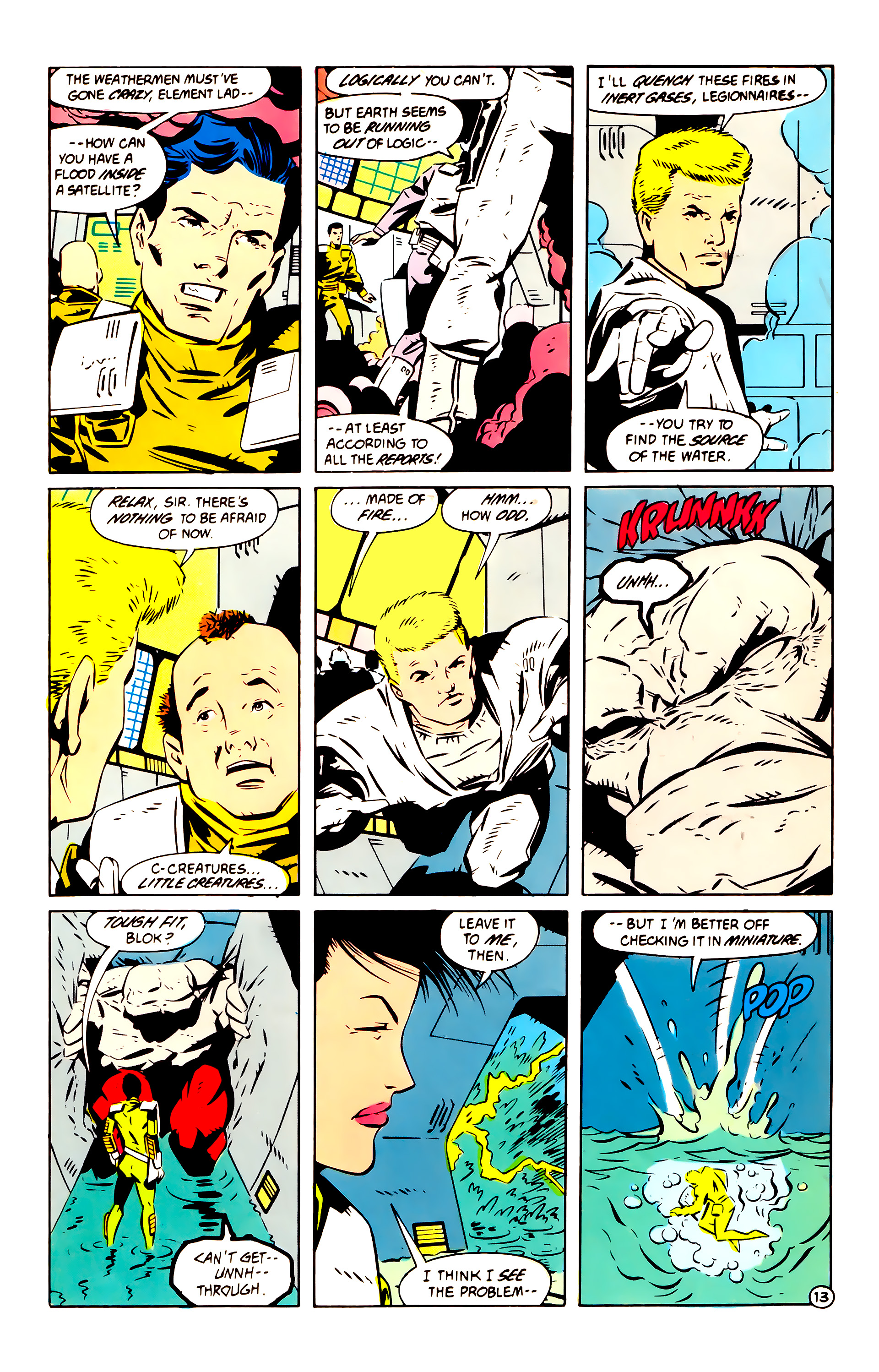 Legion of Super-Heroes (1984) 60 Page 13