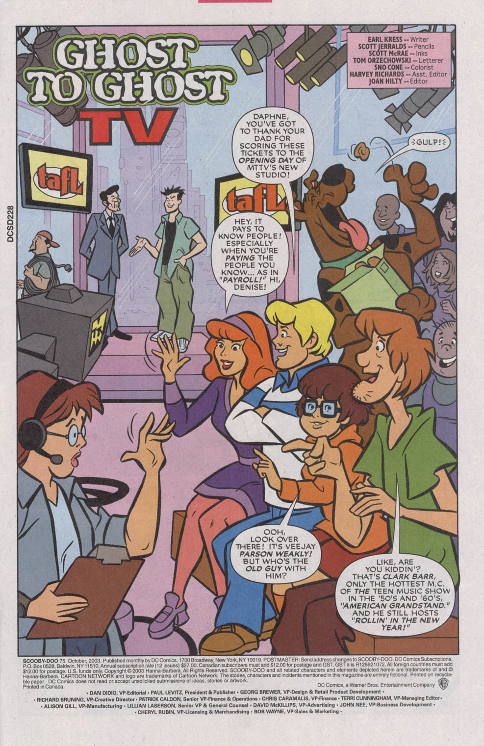 Read online Scooby-Doo (1997) comic -  Issue #75 - 3