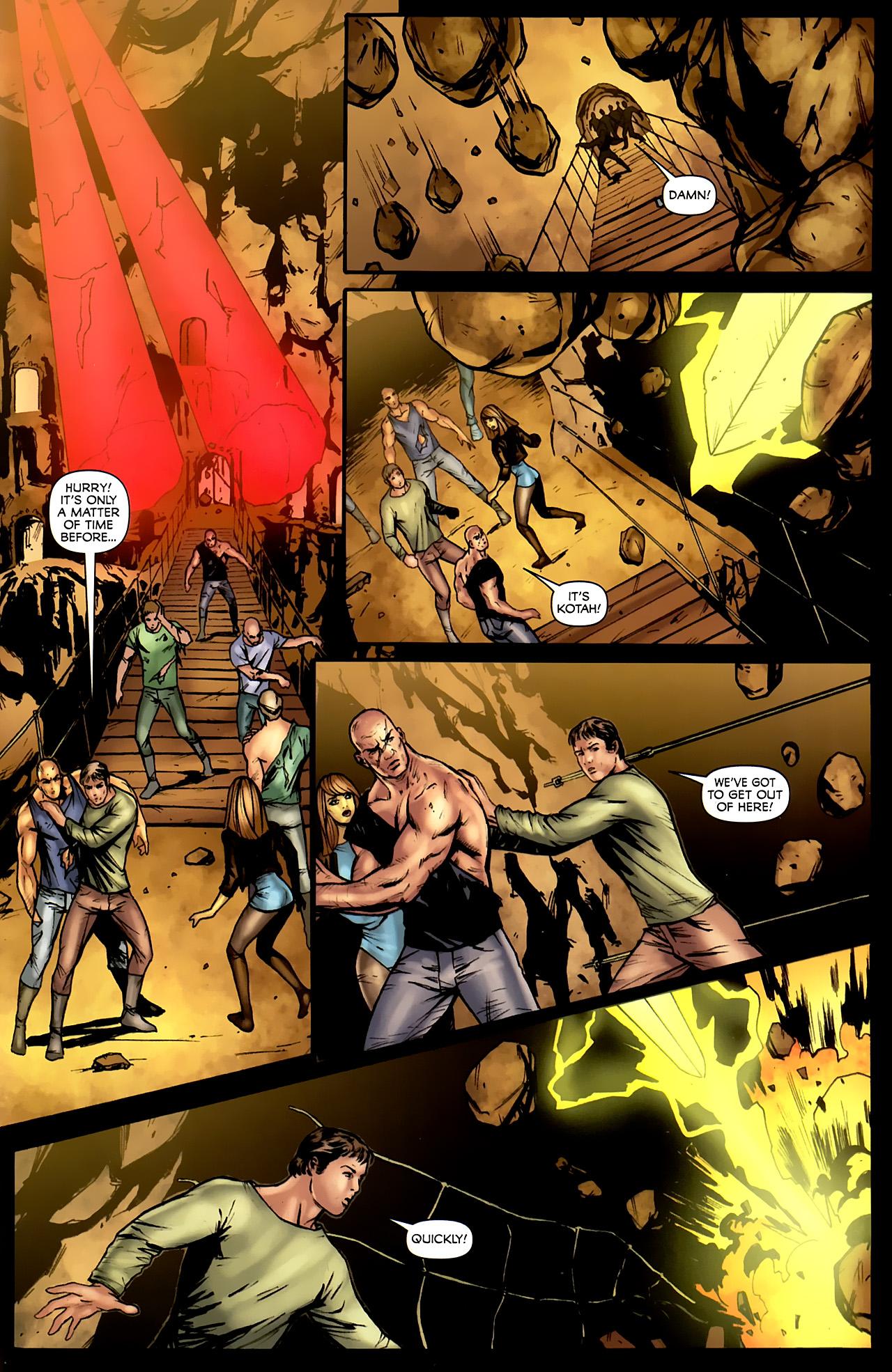 Read online Stargate: Daniel Jackson comic -  Issue #4 - 19