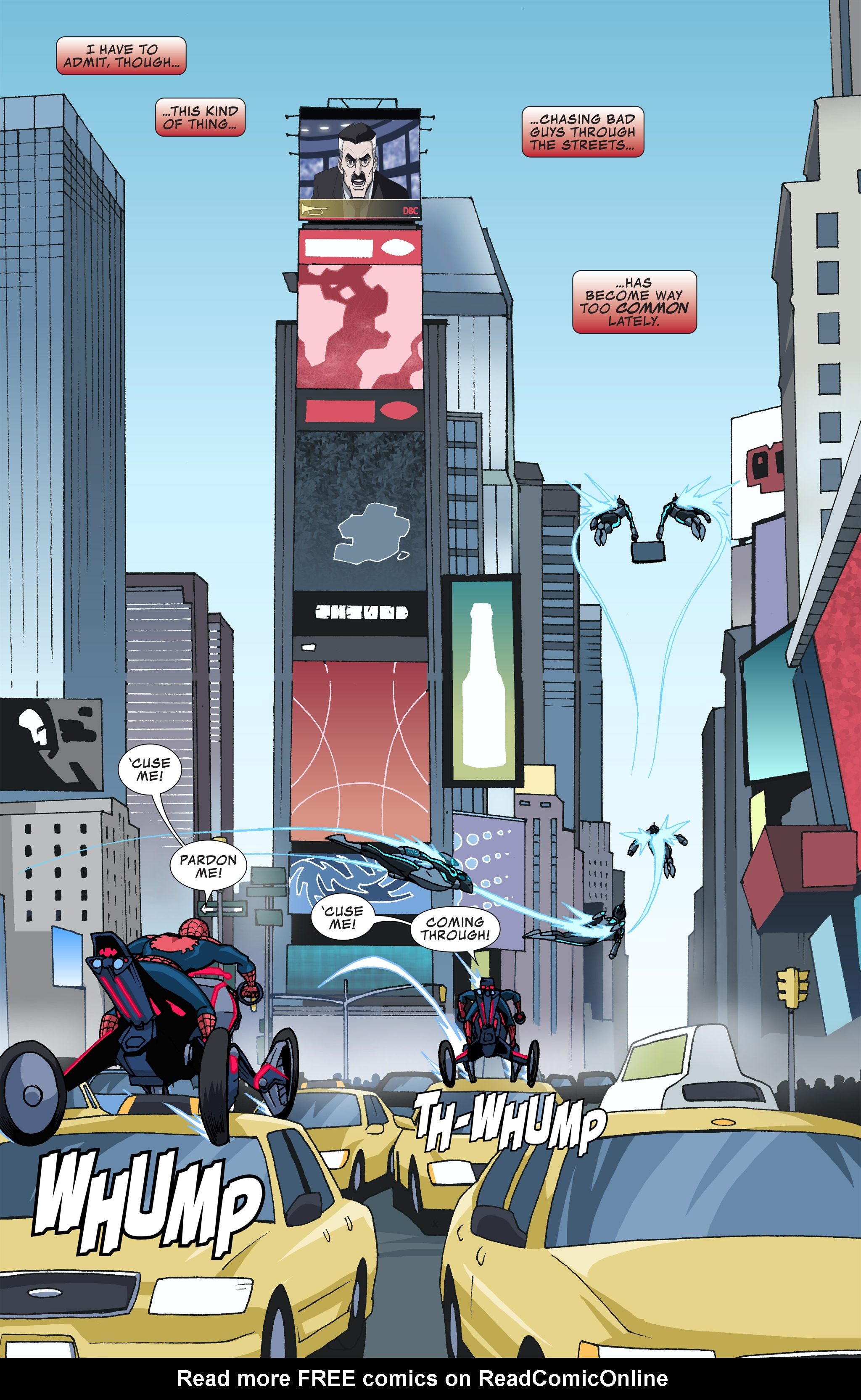 Read online Ultimate Spider-Man (Infinite Comics) (2015) comic -  Issue #12 - 12