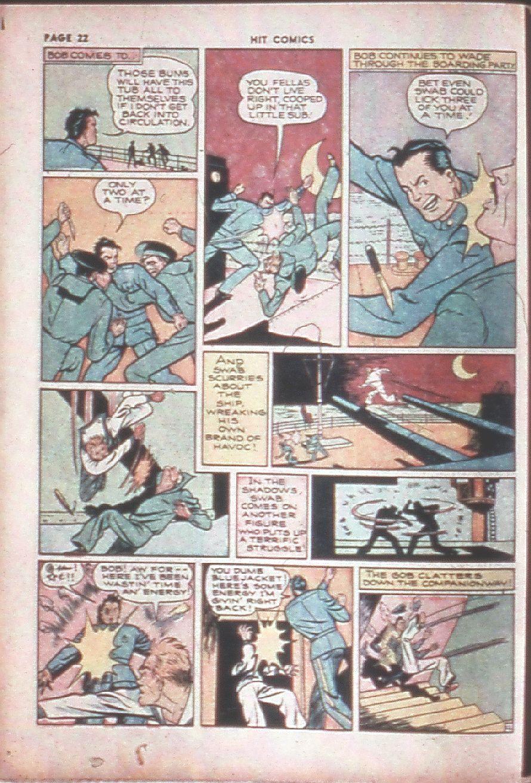 Read online Hit Comics comic -  Issue #8 - 24