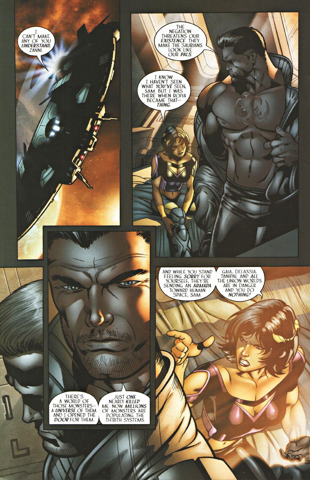 Read online Sigil (2000) comic -  Issue #40 - 7