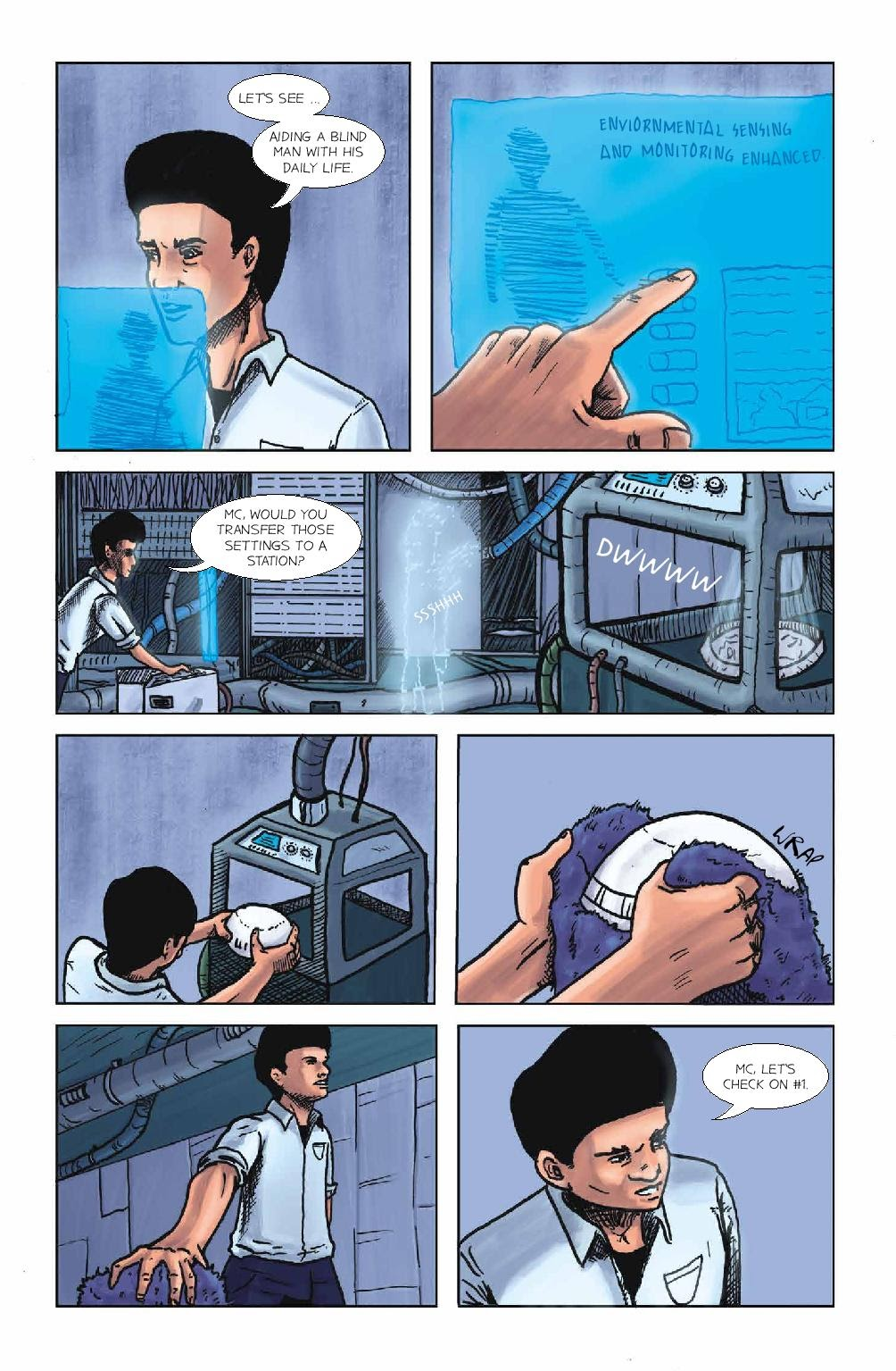 Read online Wolvv comic -  Issue #1 - 17