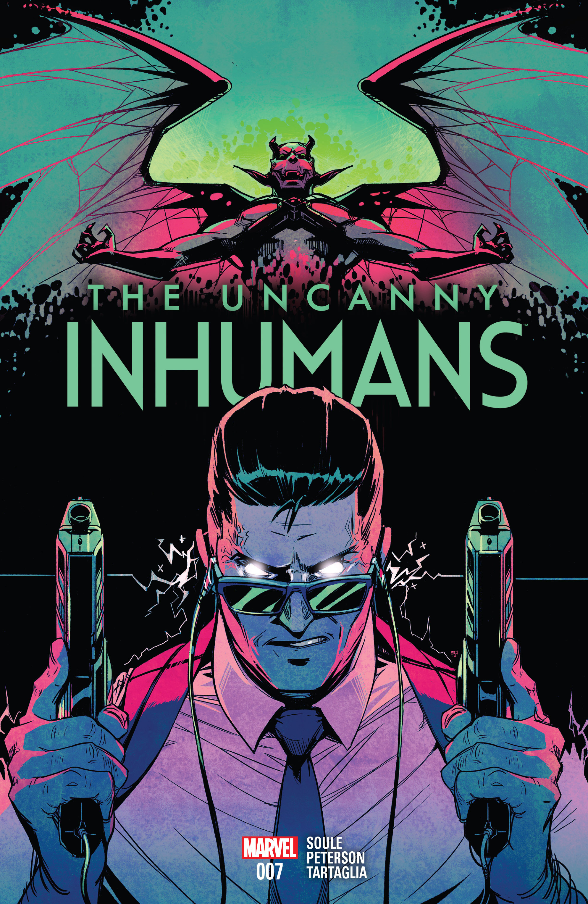 The Uncanny Inhumans 7 Page 1