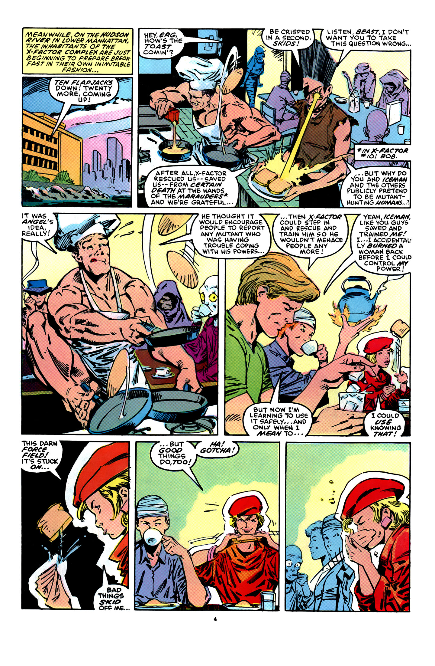 Read online X-Factor (1986) comic -  Issue #12 - 5